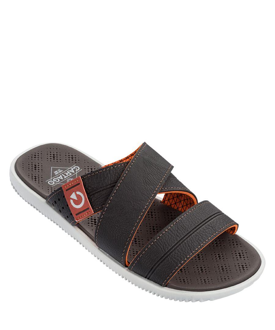 Barcelona Slide brown sandals