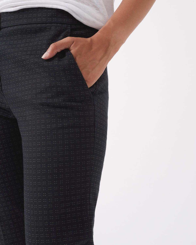Square Spot Jacquard Trouser