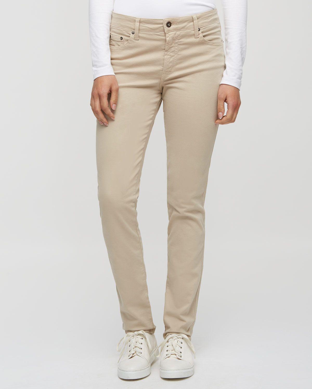 Twill Straight Leg Trouser