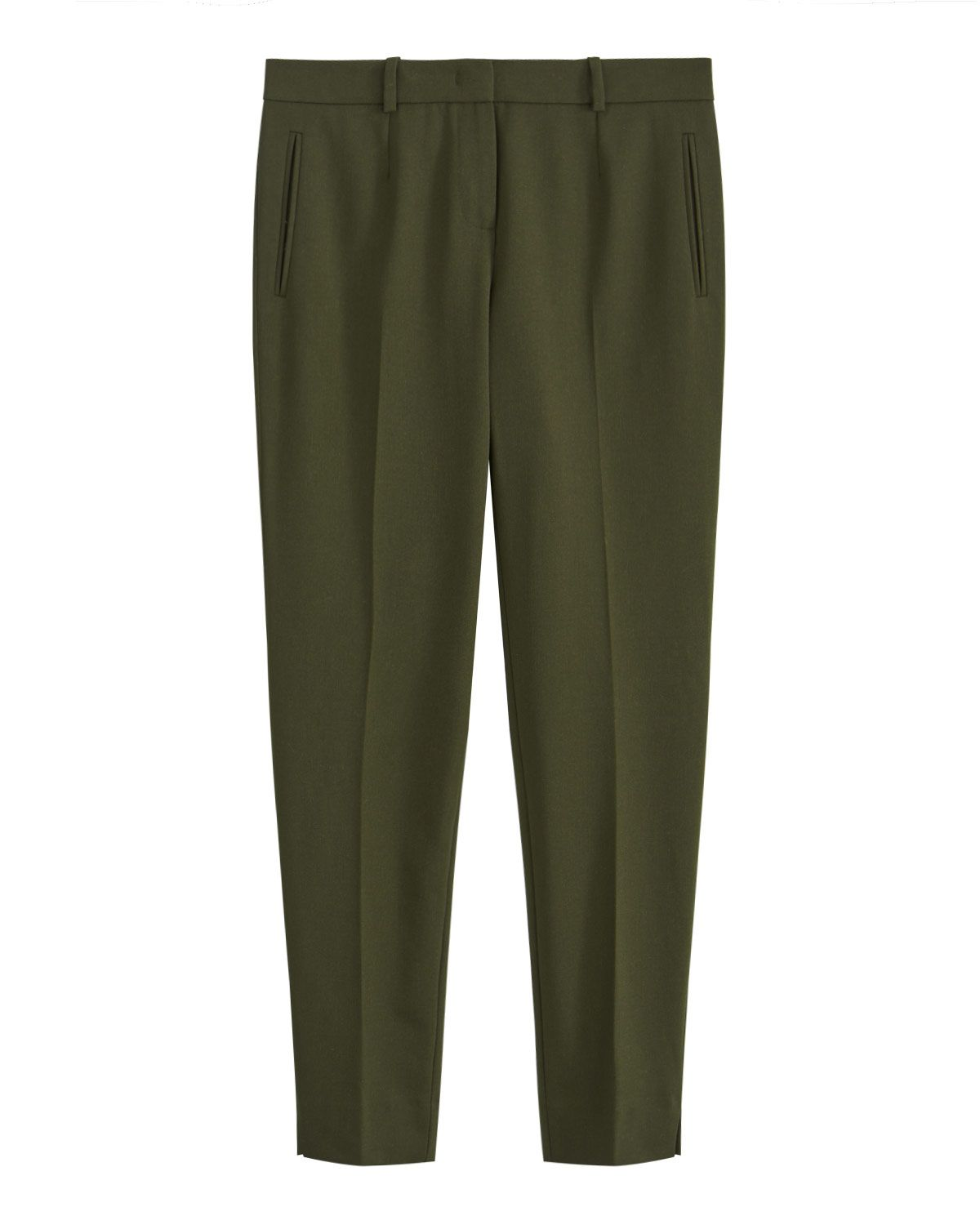 Soft Drill Wide Trouser