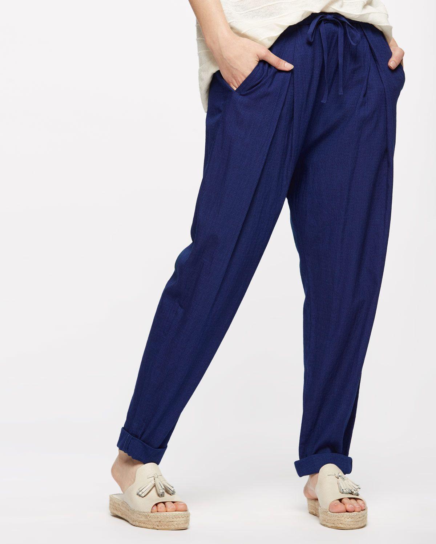 Cotton Drawstring Trouser