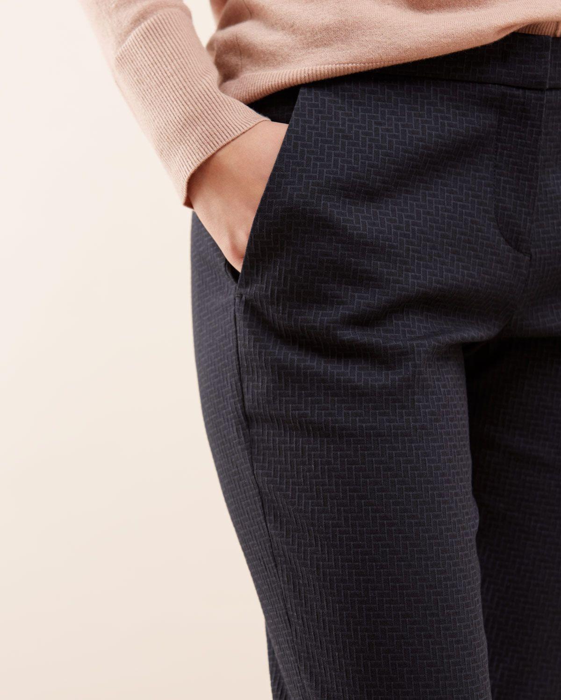 Weave Jacquard Trouser