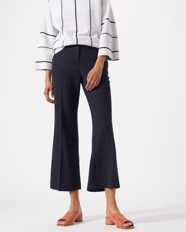 Tailored Kick Flare Trouser