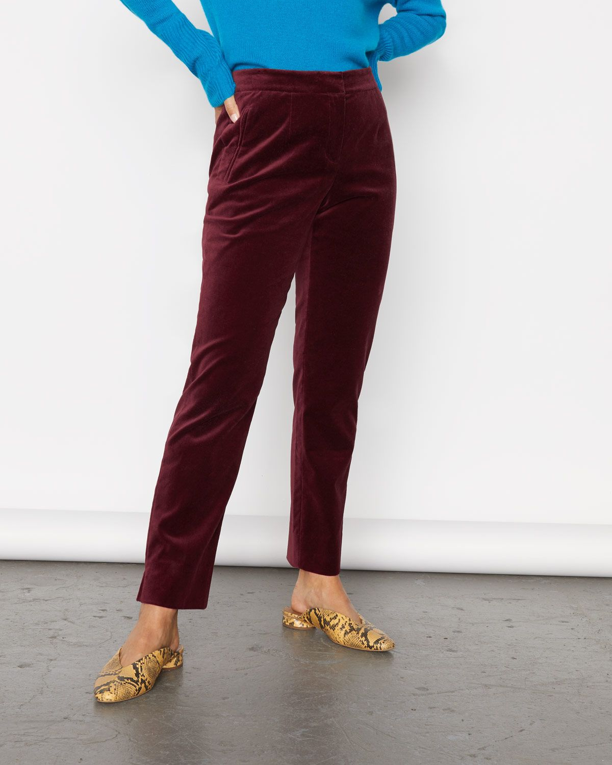 Paris Velvet Trouser