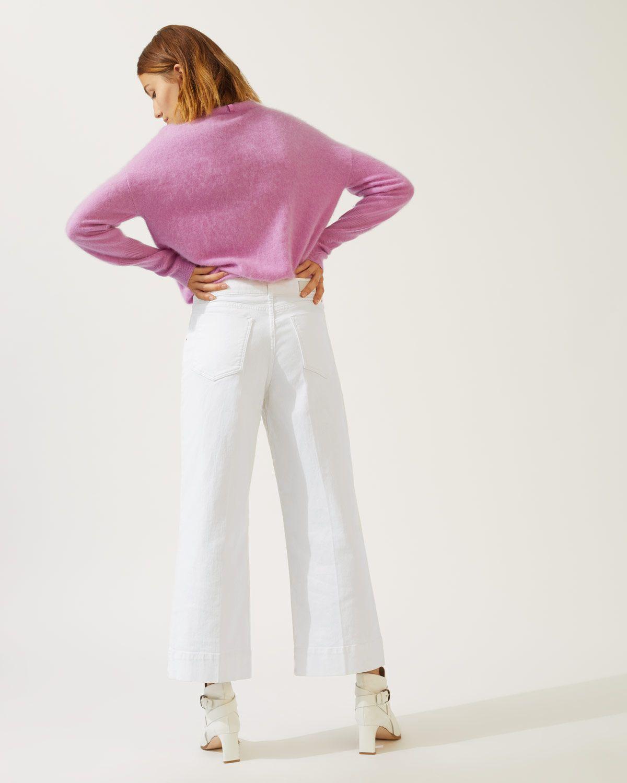 Hoxton Crop Flare Jean