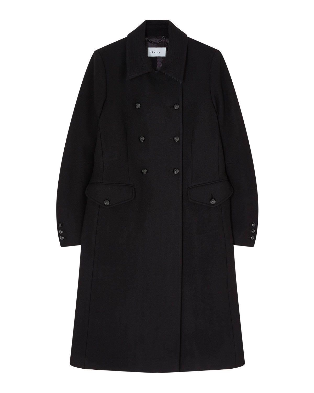 Modern Wool Military Coat