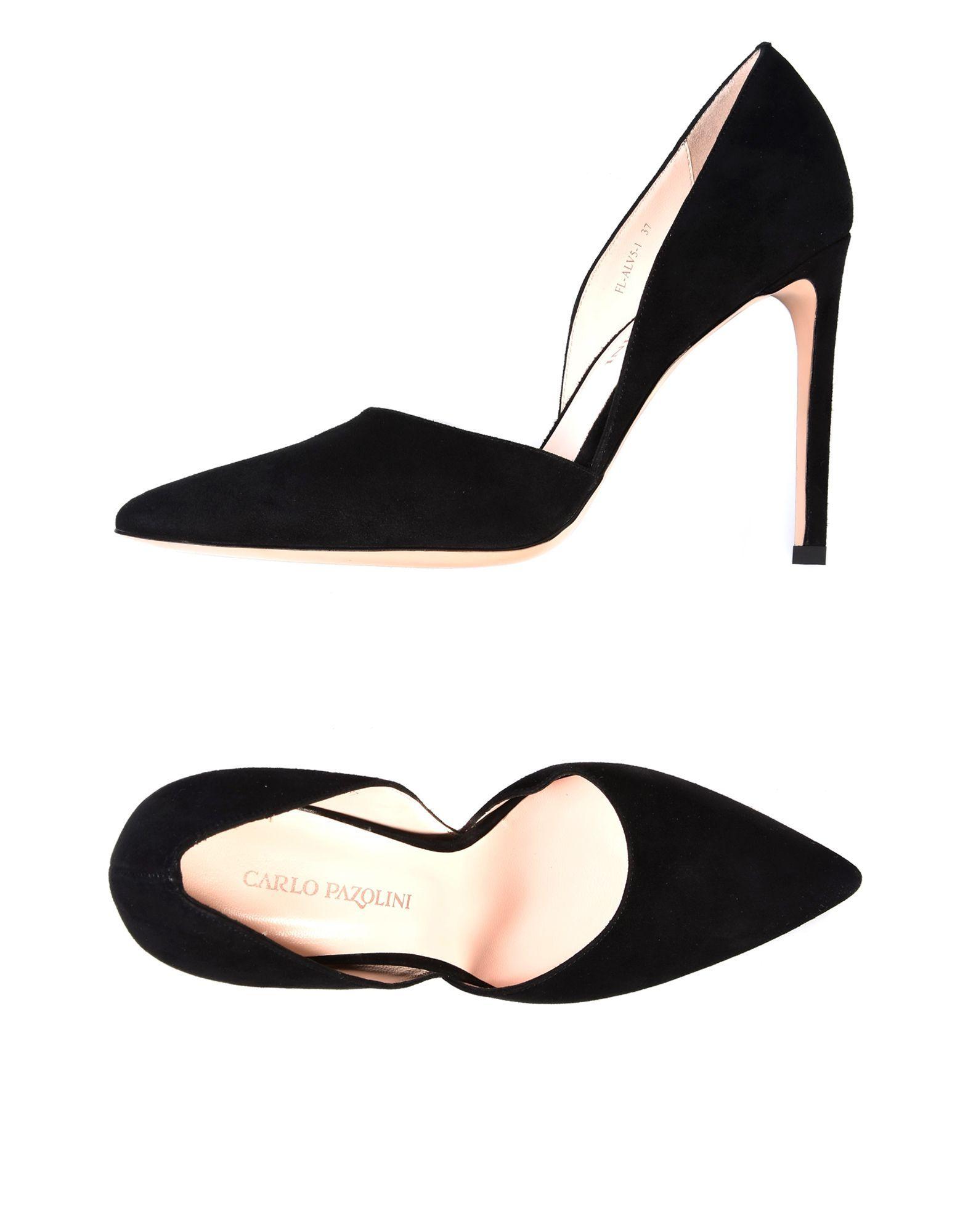 Carlo Pazolini Black Suede Heels