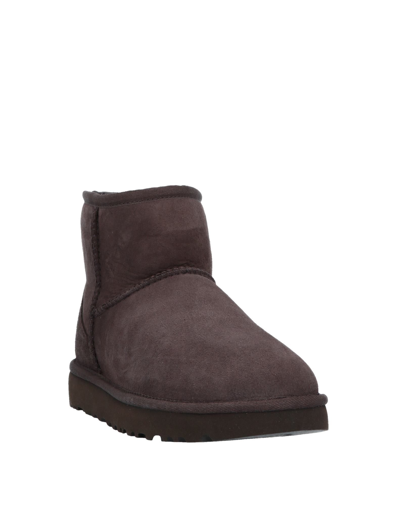 Ugg Australia Dark Brown Shearling Boots