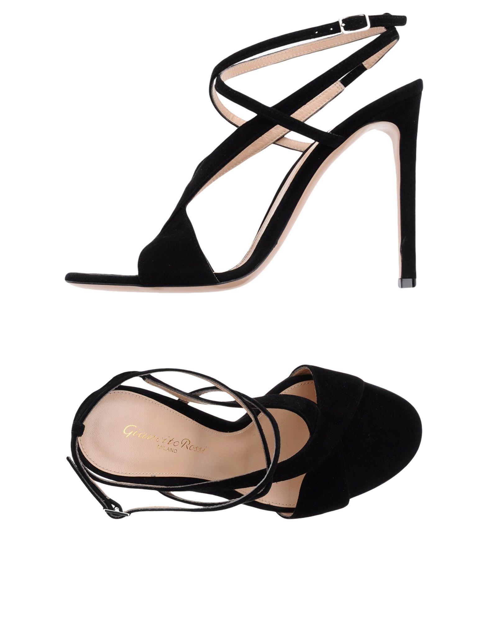 Gianvito Rossi Black Leather Heels