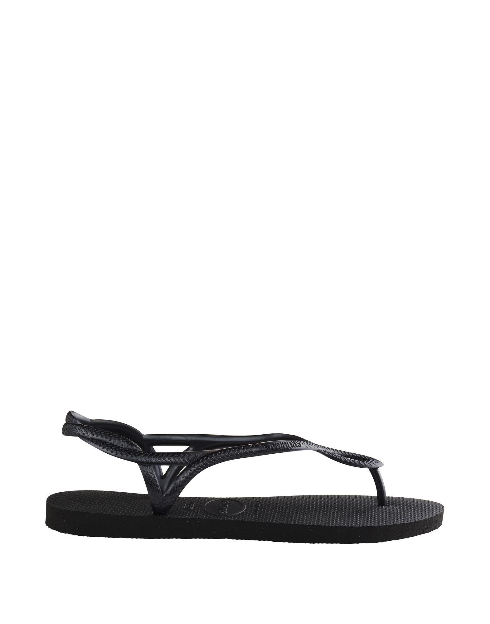 Havaianas Black Basic Flip Flop Sandals