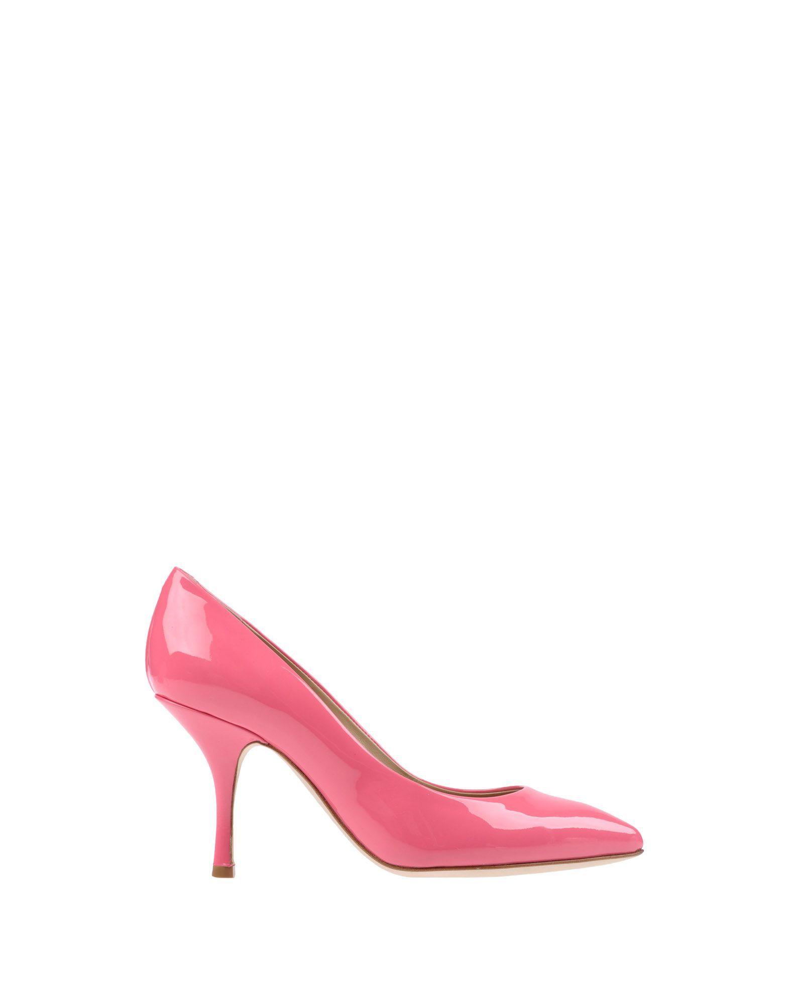 Giuseppe Zanotti Fuchsia Leather Heels