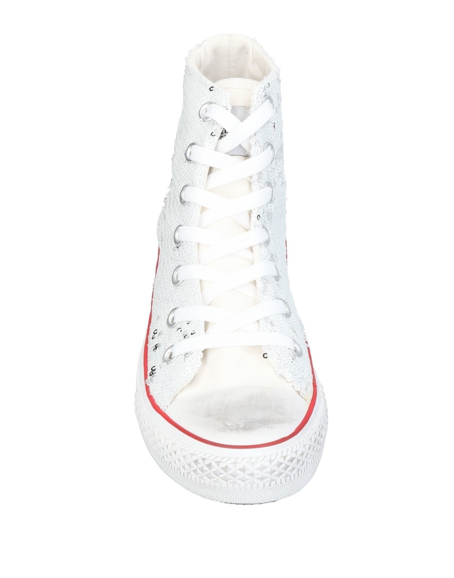 Primadonna White High Top Sneakers
