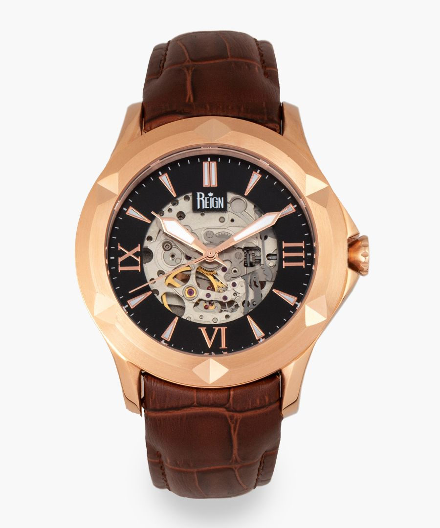 Reign Dantes brown watch