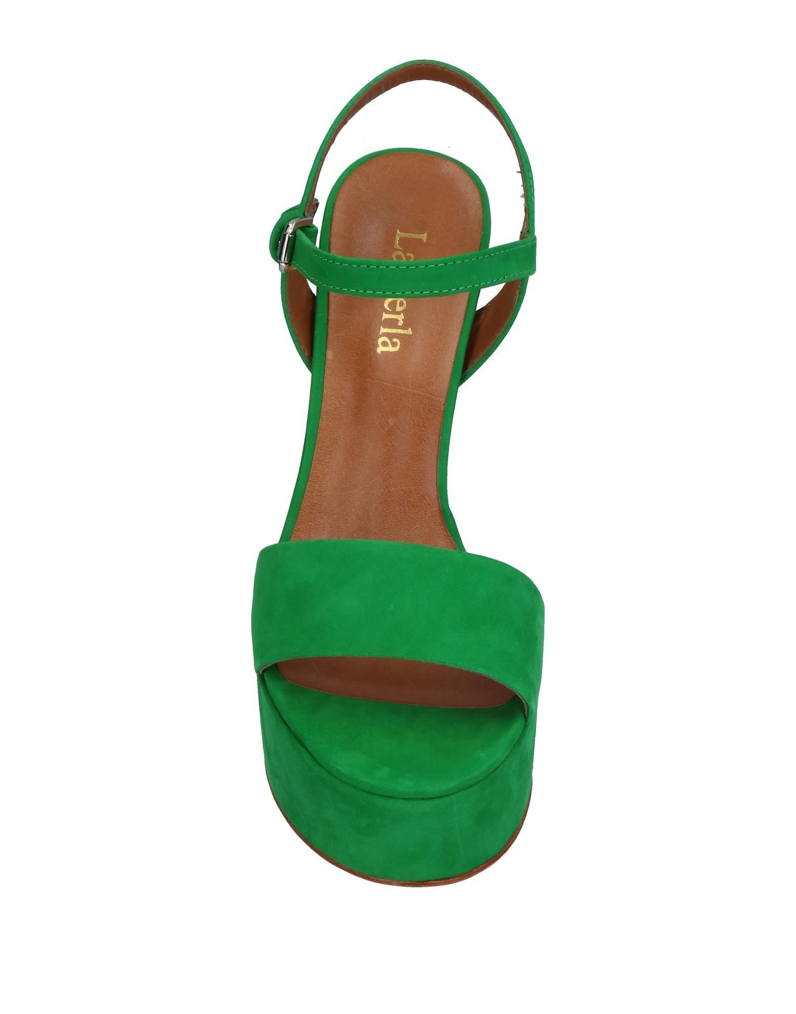 FOOTWEAR La Perla Green Woman Leather