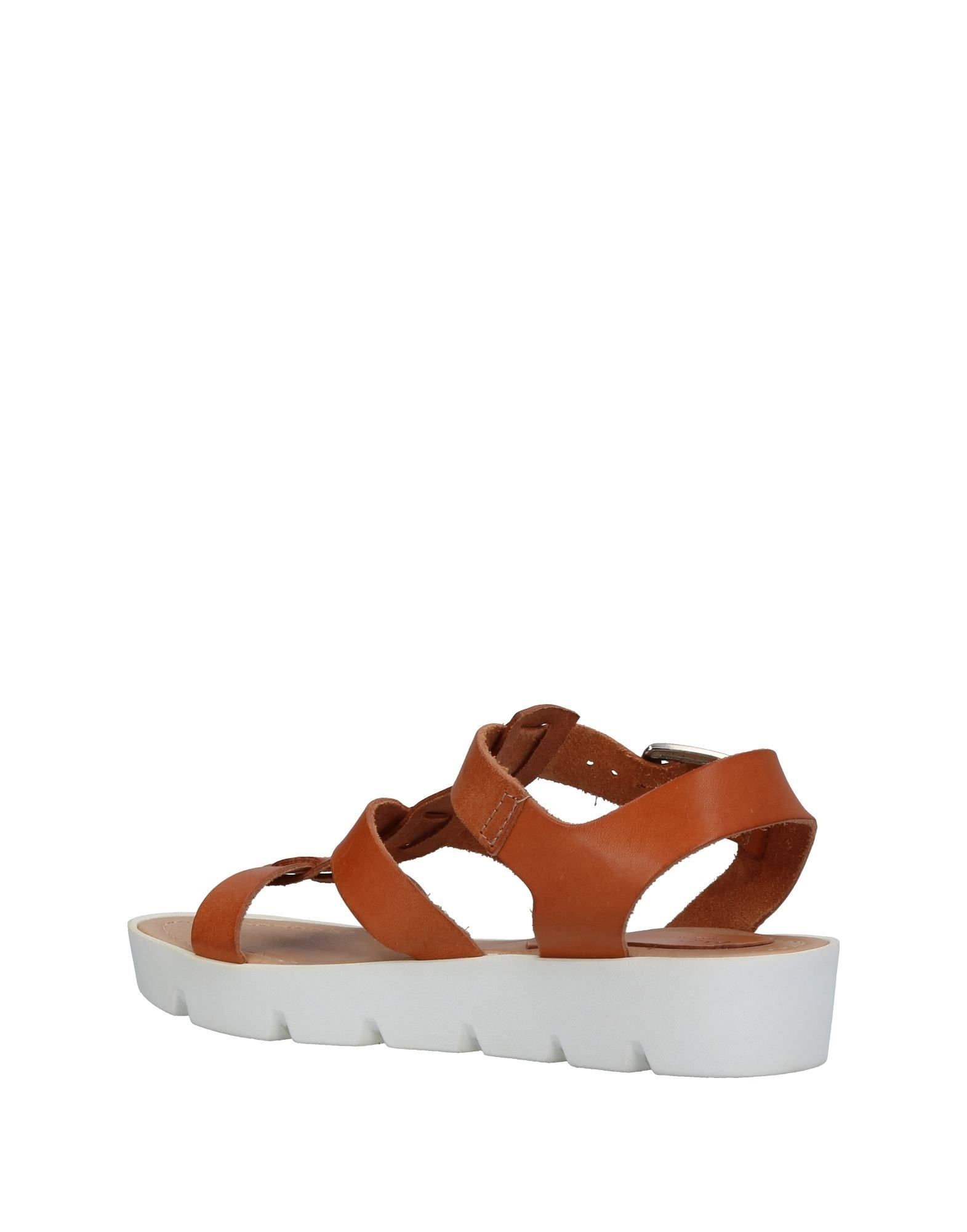 Carlo Pazolini Tan Leather Sandals