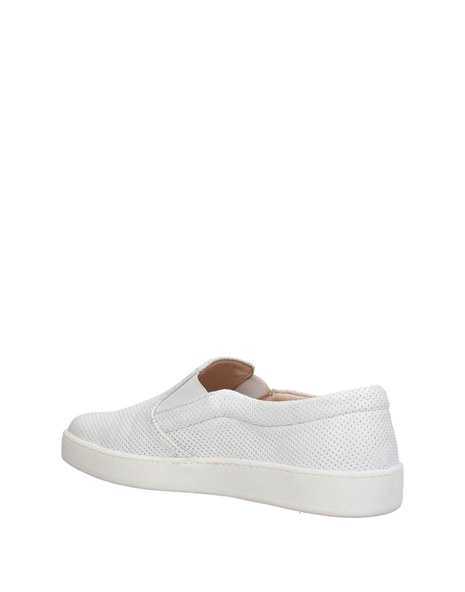 Carlo Pazolini White Leather Slip Ons