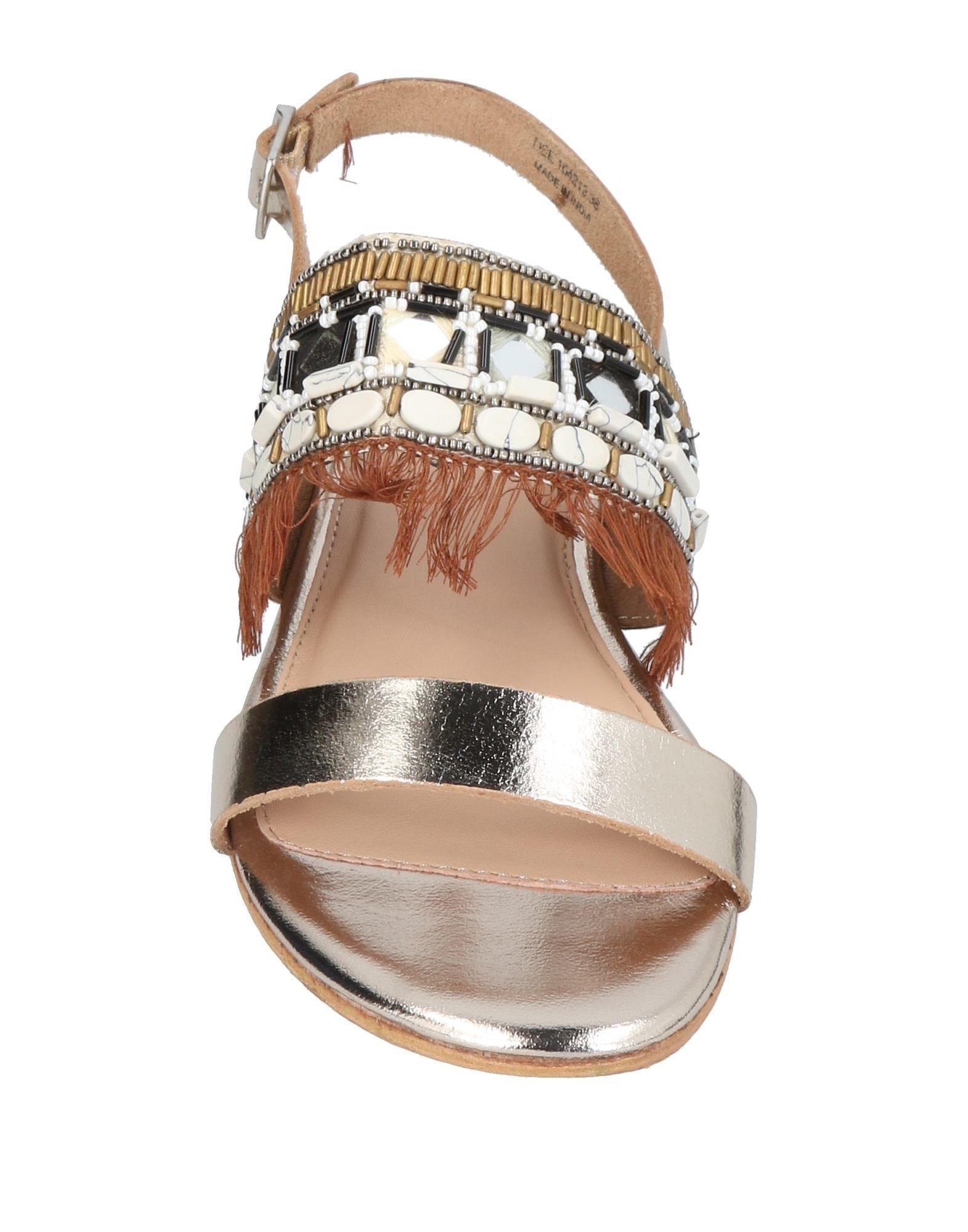 Docksteps Platinum Leather Sandals