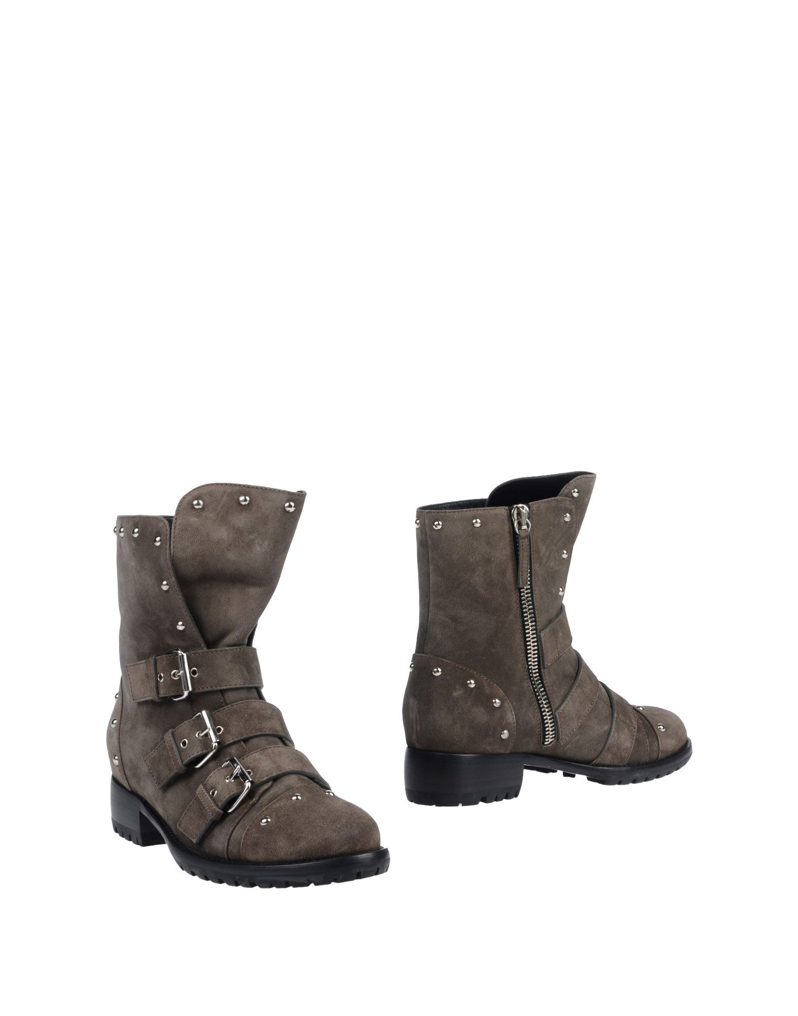 Giuseppe Zanotti Grey Ankle Boots