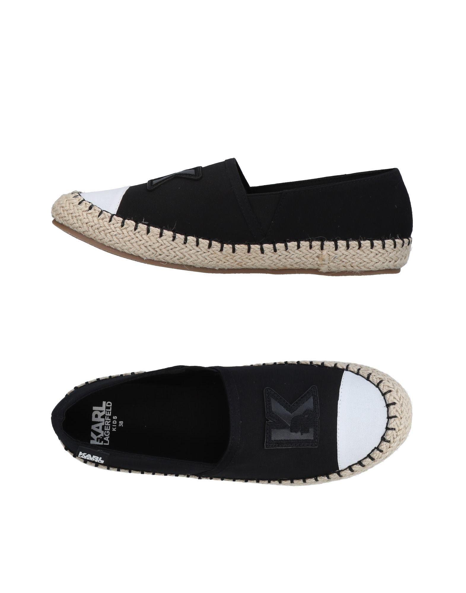 FOOTWEAR Karl Lagerfeld Black Girl Textile fibres