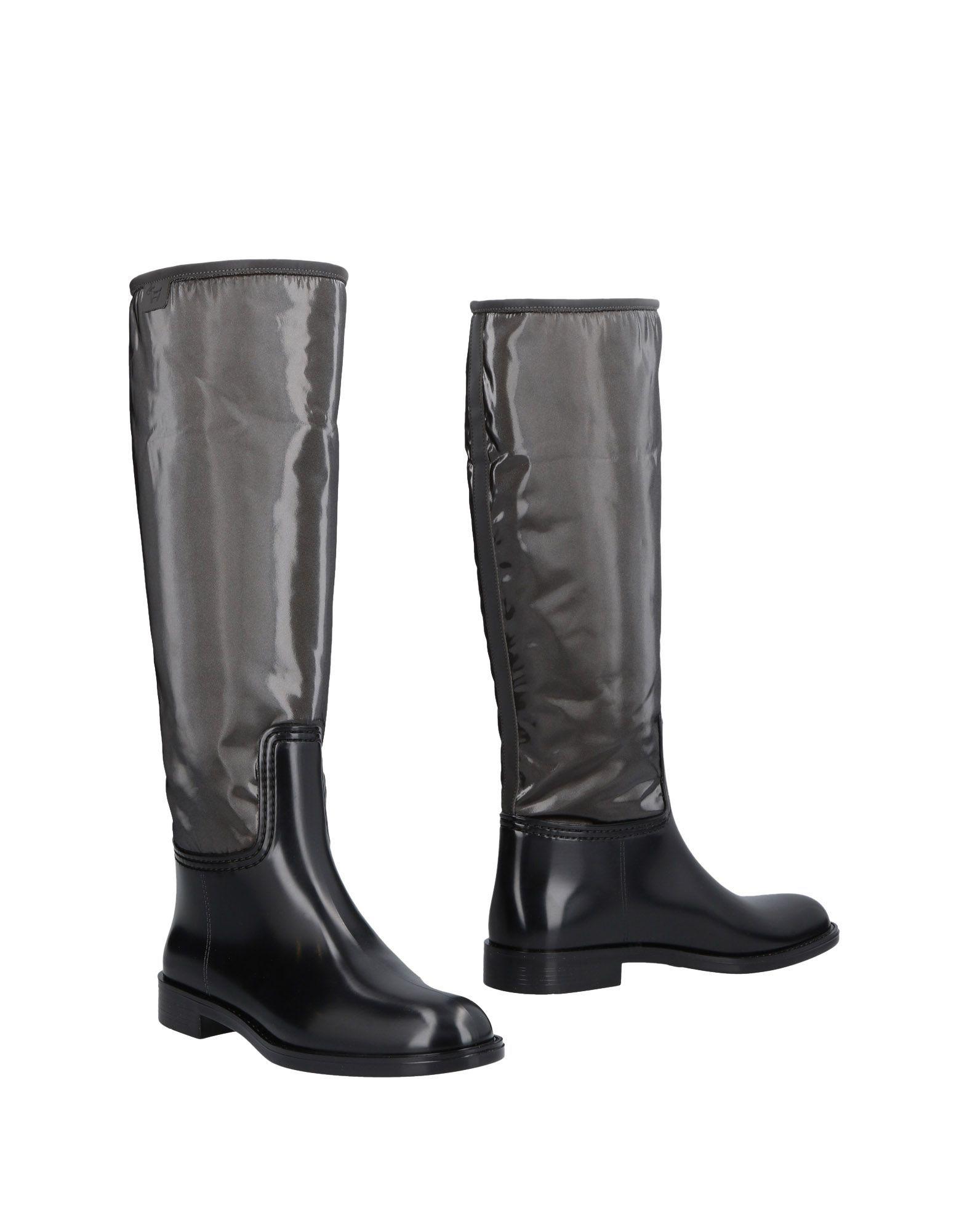 L' Autre Chose Black Knee High Boots