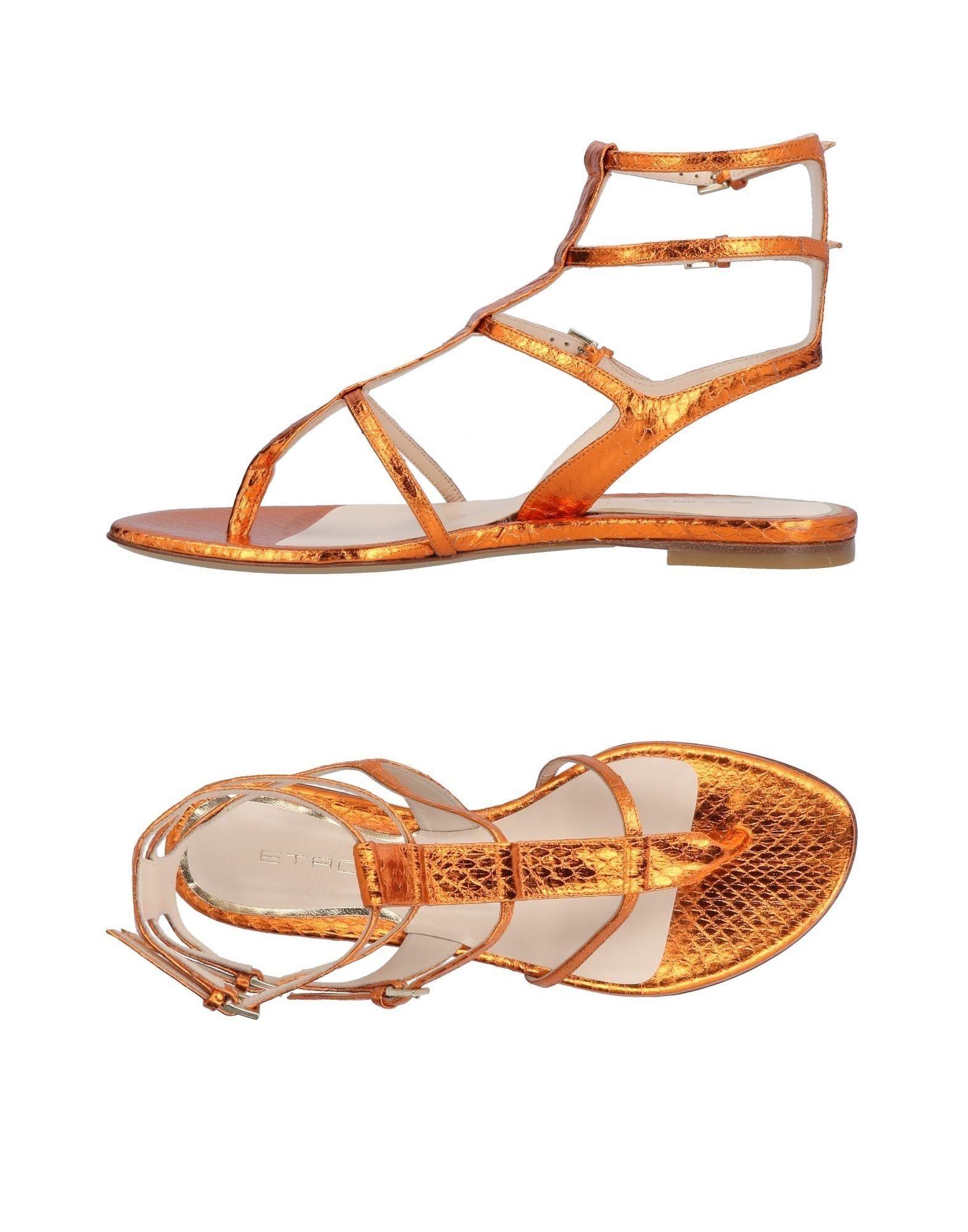 Etro Orange Sandals
