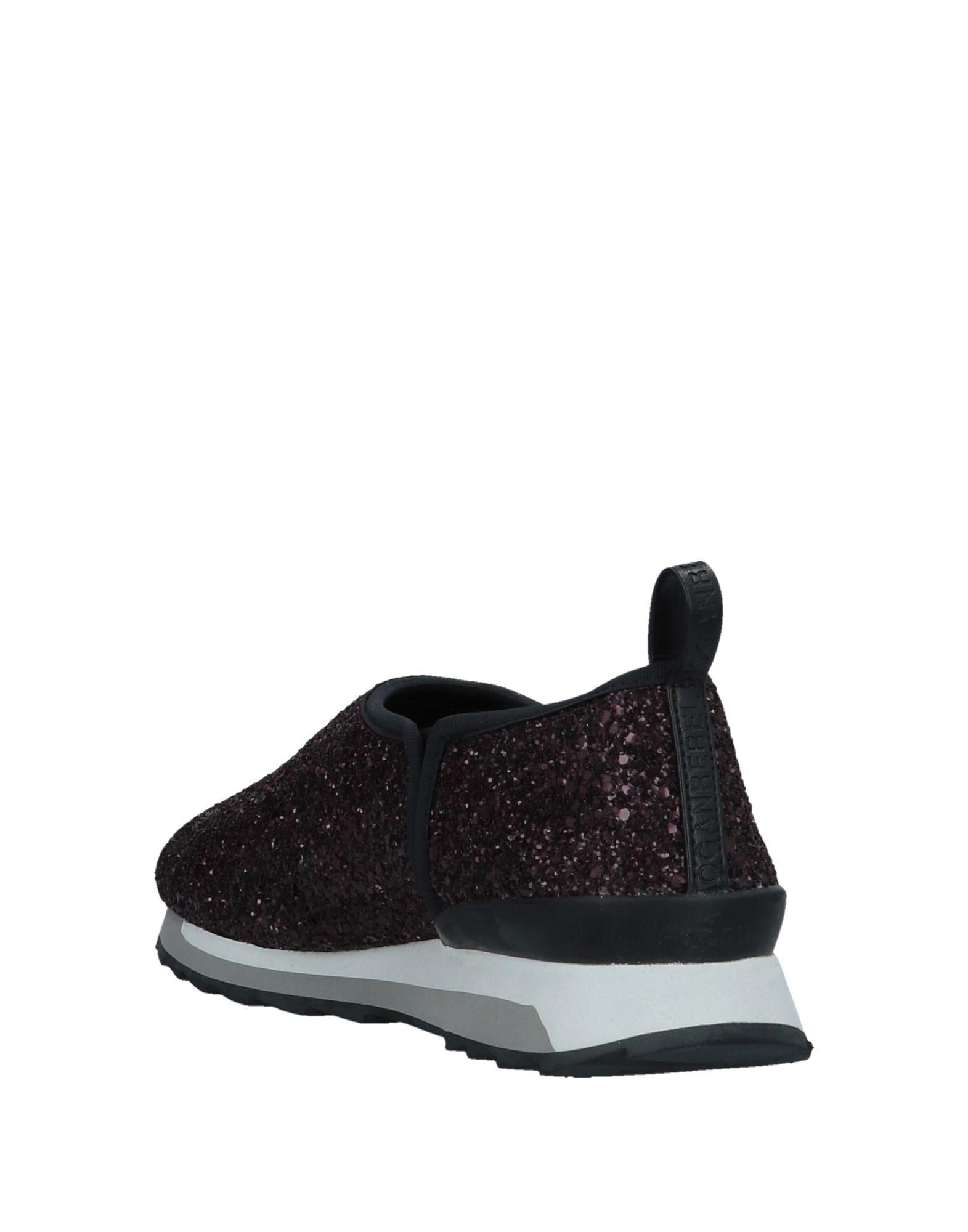 Hogan Rebel Deep Purple Glitter Sneakers