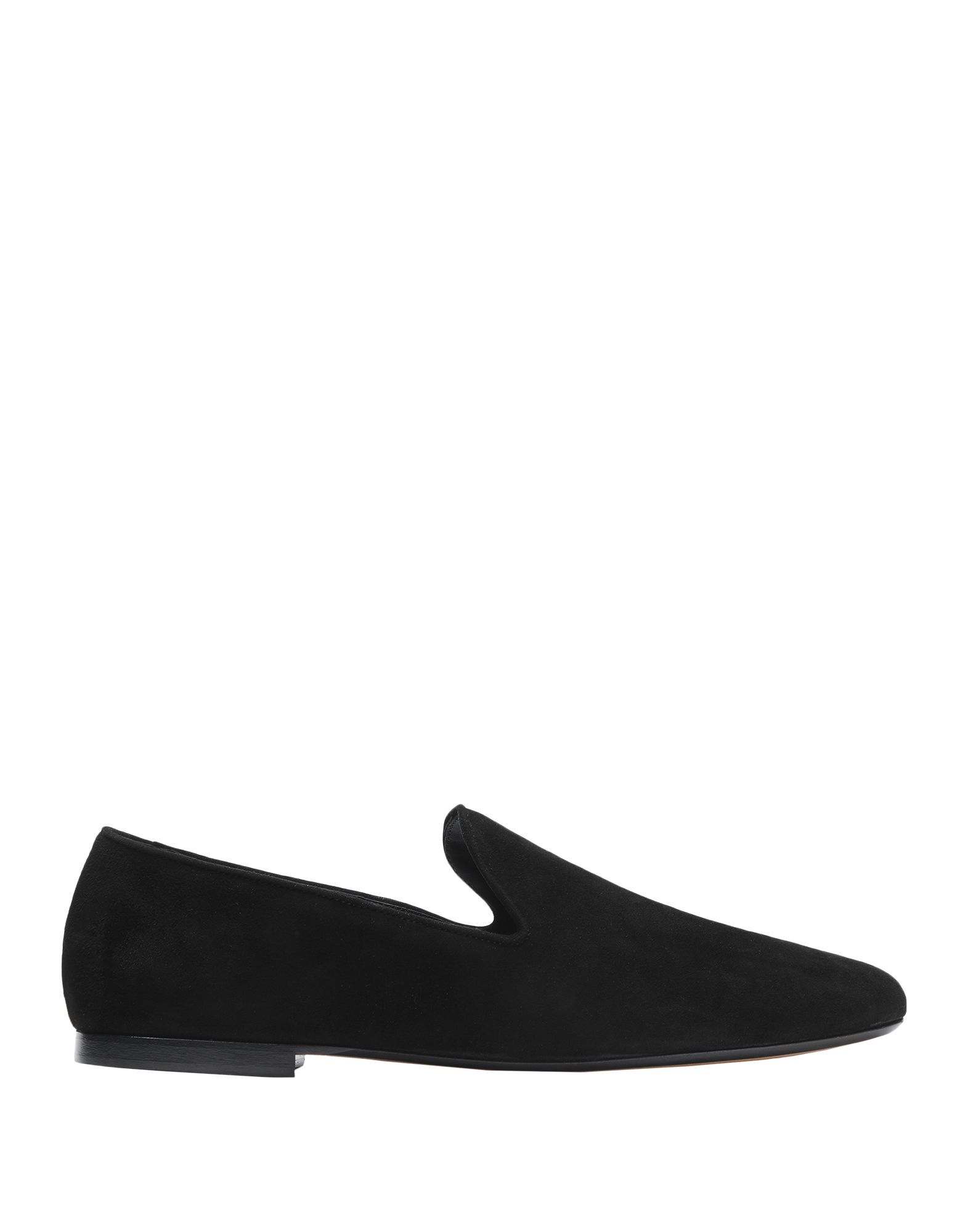Vince. Black Leather Loafers