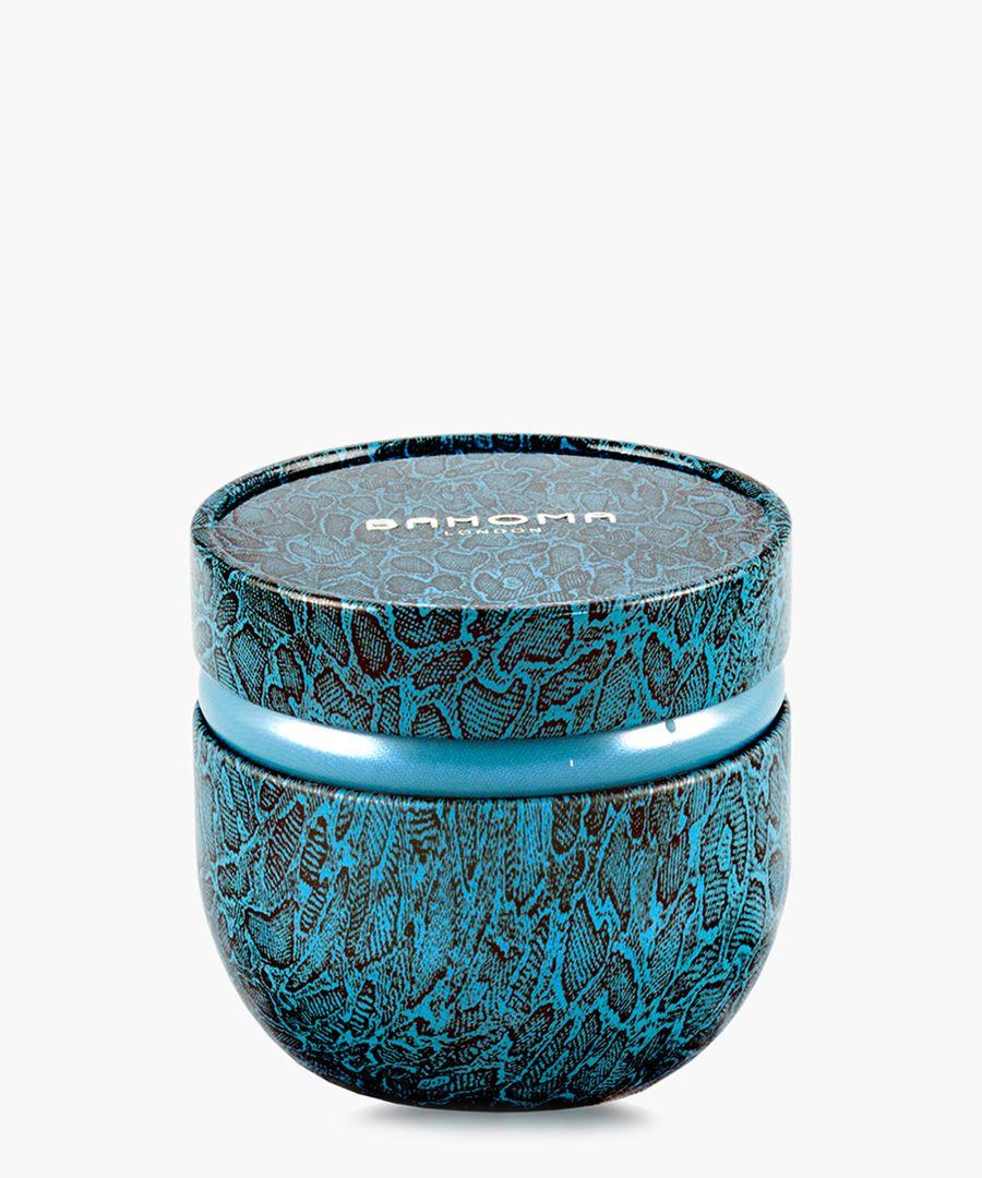 Ninazu abstract print tin candle