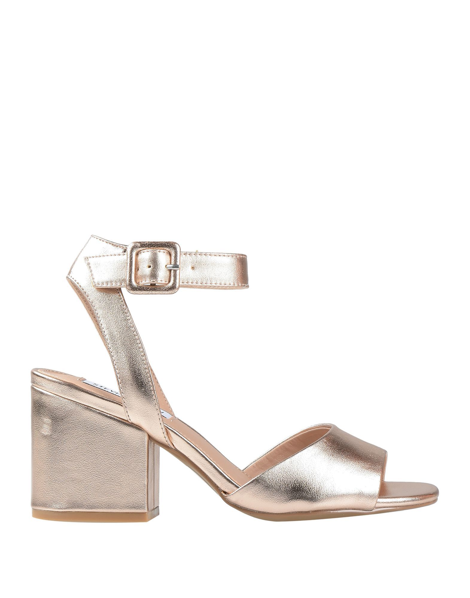Steve Madden Copper Heeled Sandals