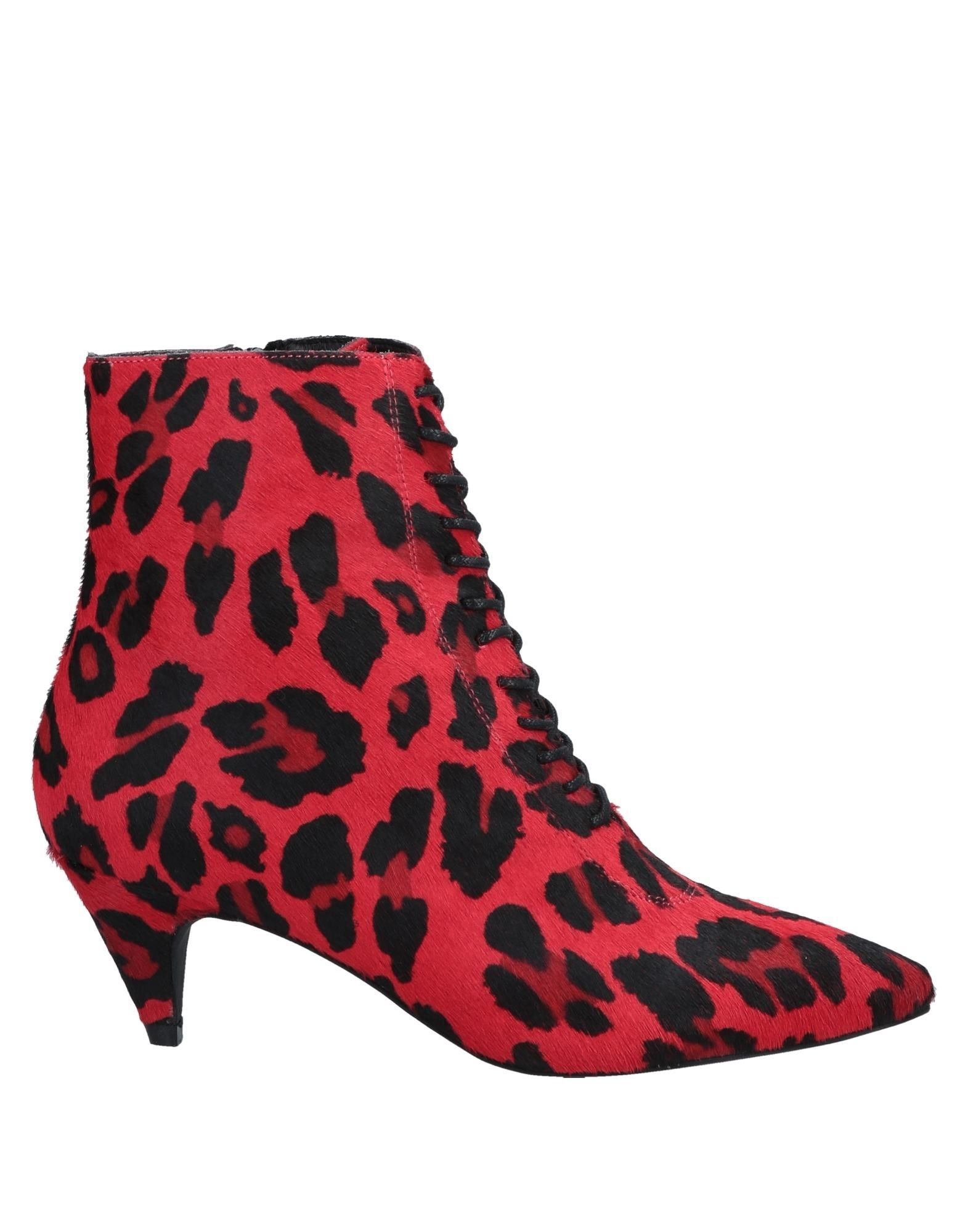 FOOTWEAR Jeffrey Campbell Red Woman Leather