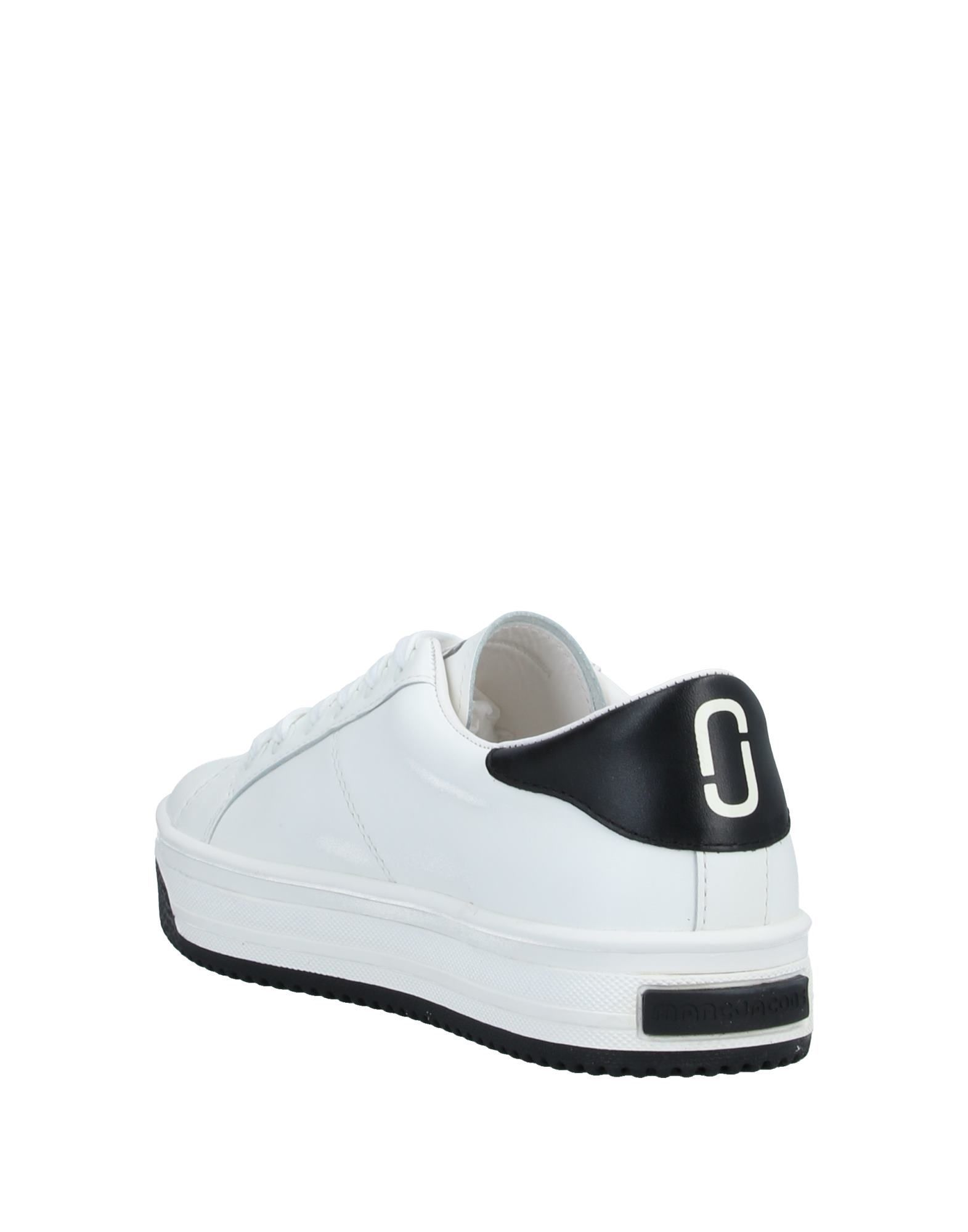 Marc Jacobs White Leather Sneakers