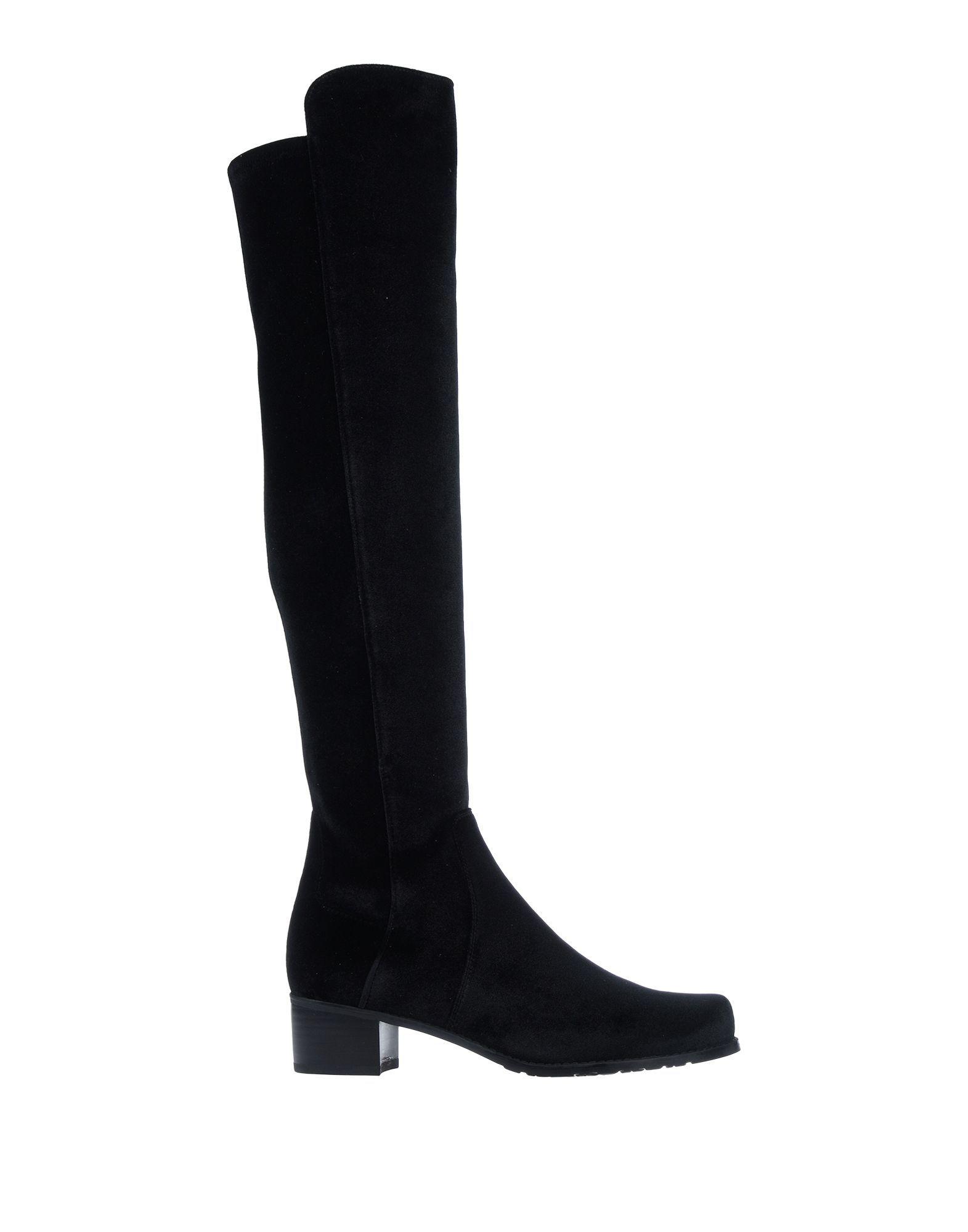 Stuart Weitzman Black Knee High Boots