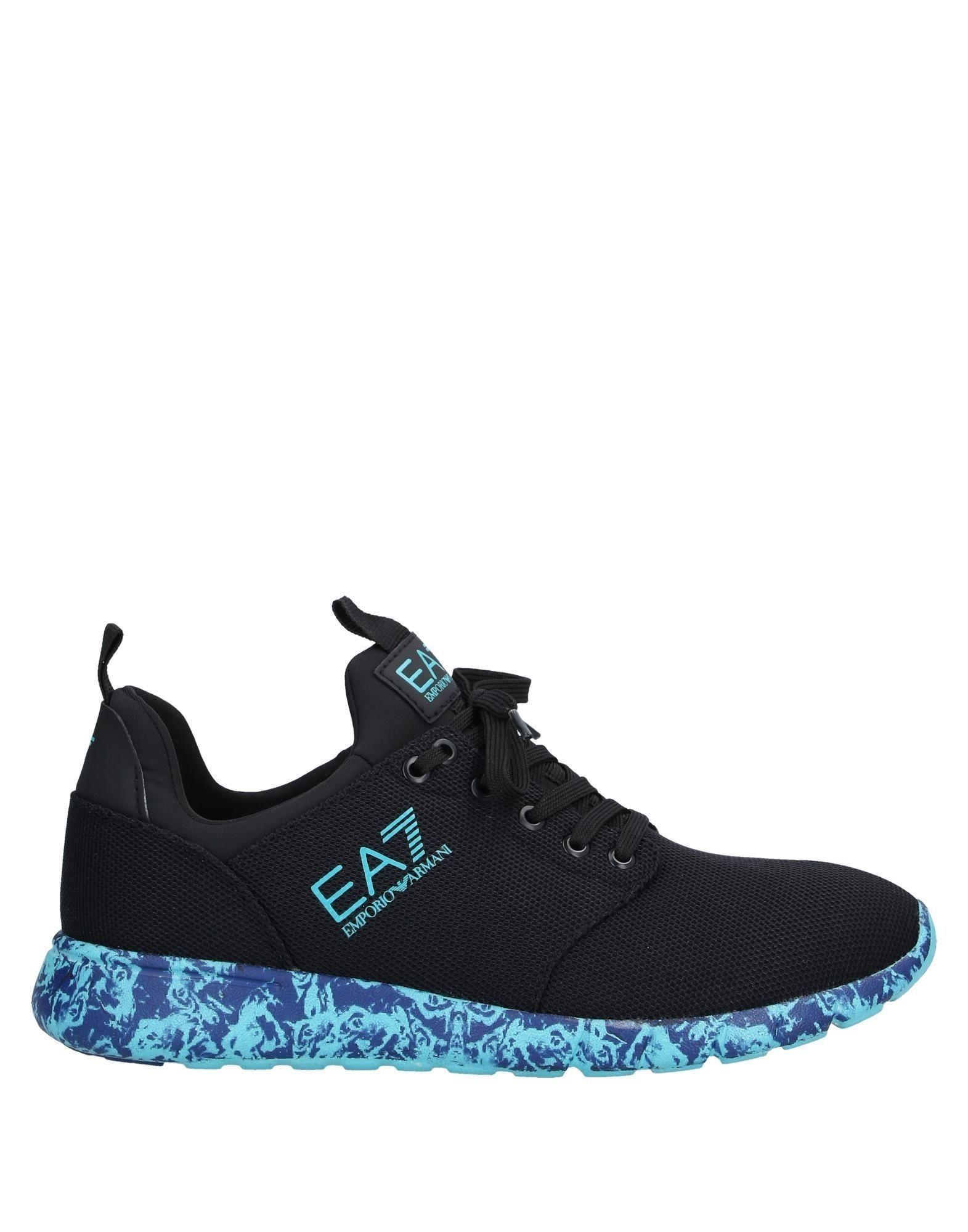 EA7 Black Sneakers