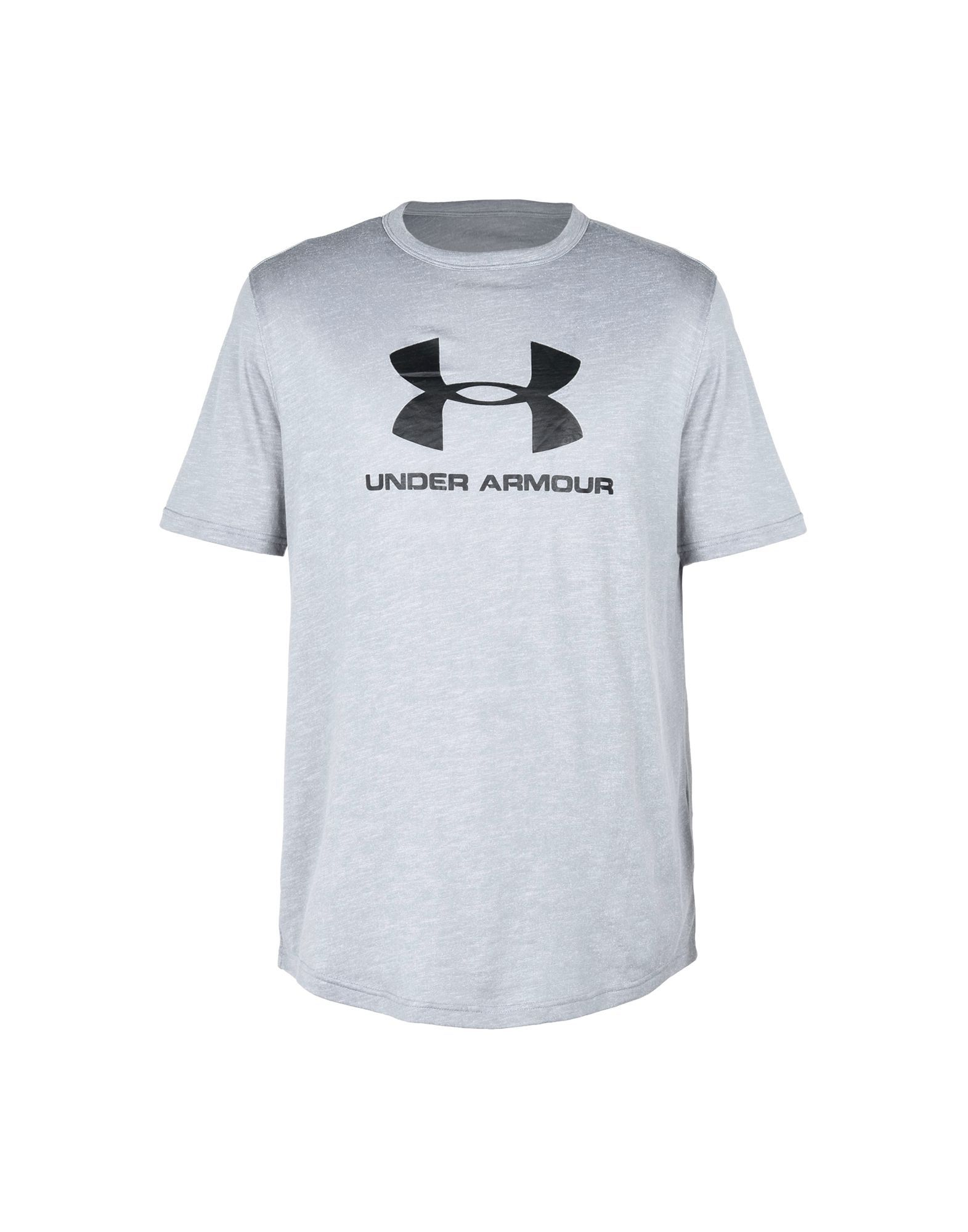 Under Armour Grey Cotton T-shirts
