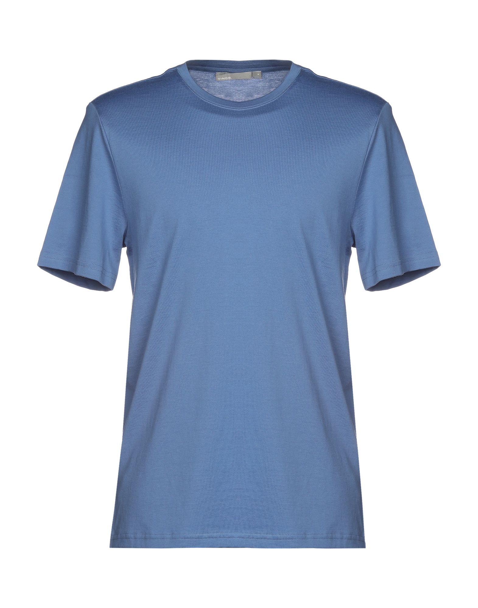 Vince. Pastel blue Cotton T-shirts