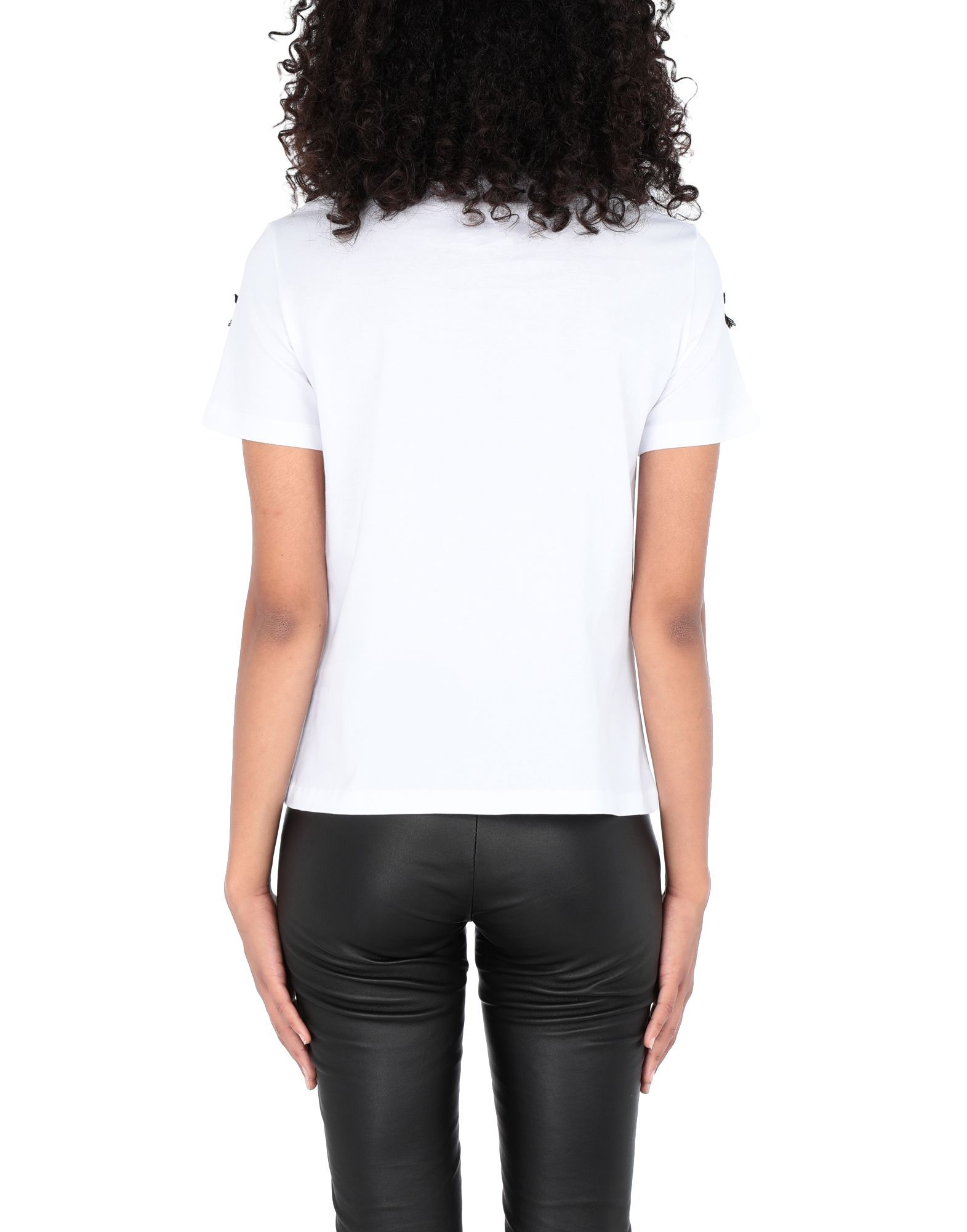 Giulia Rositani White Cotton T-shirts