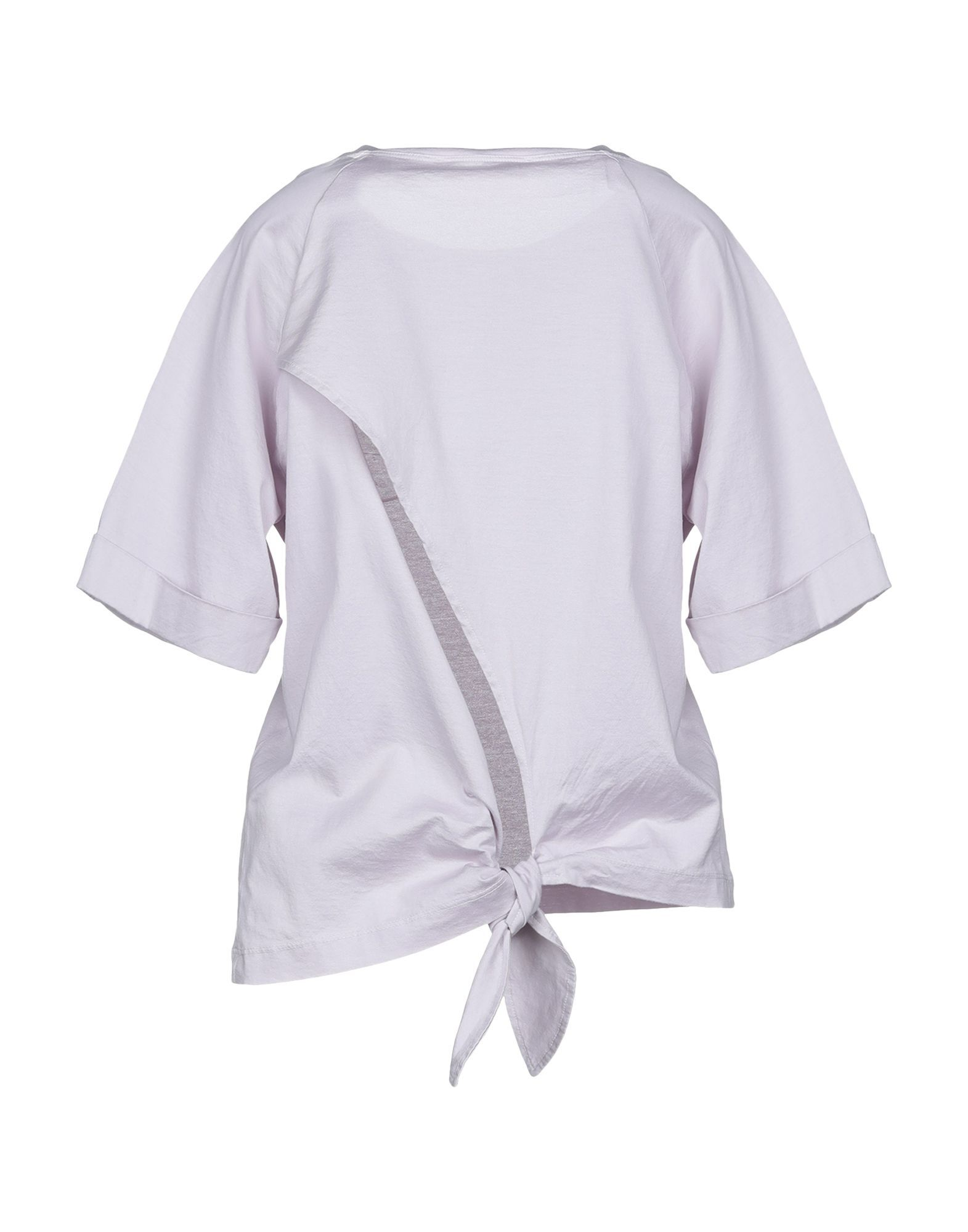 Mauro Grifoni Lilac Cotton T-Shirt