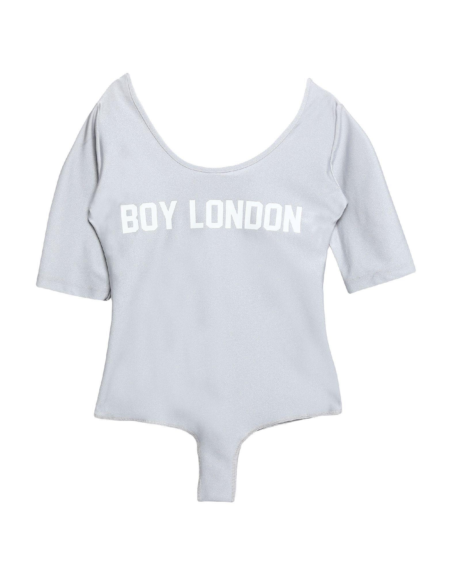 Boy London Light Grey Logo Bodysuit