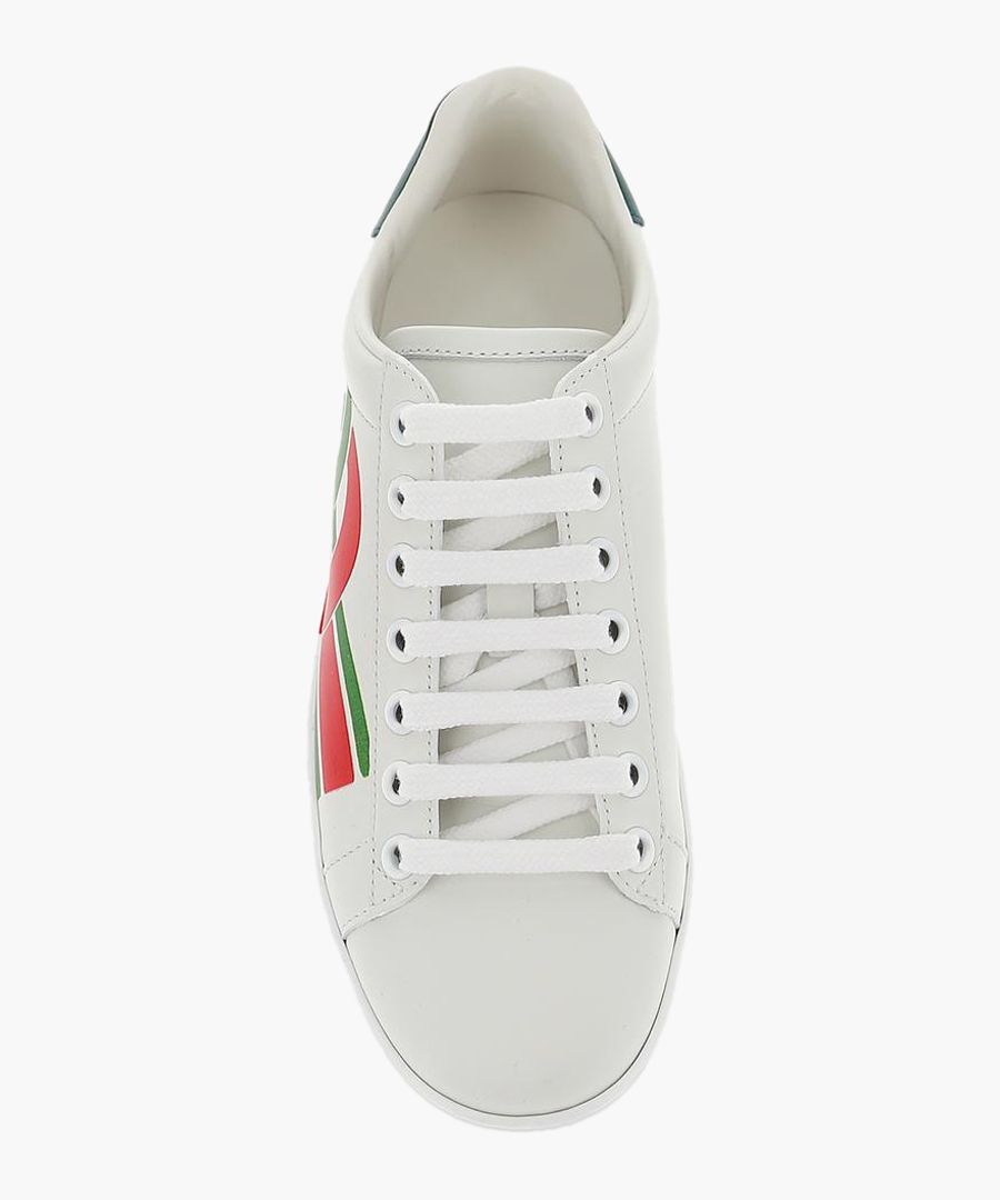 Ace leather trainers