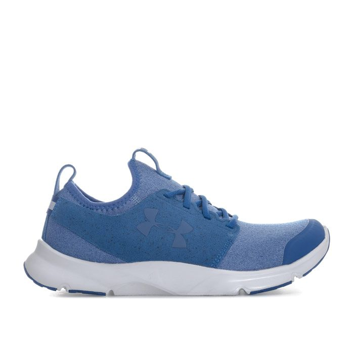Men's Under Armour Drift RN Mineral Trainers in Blue