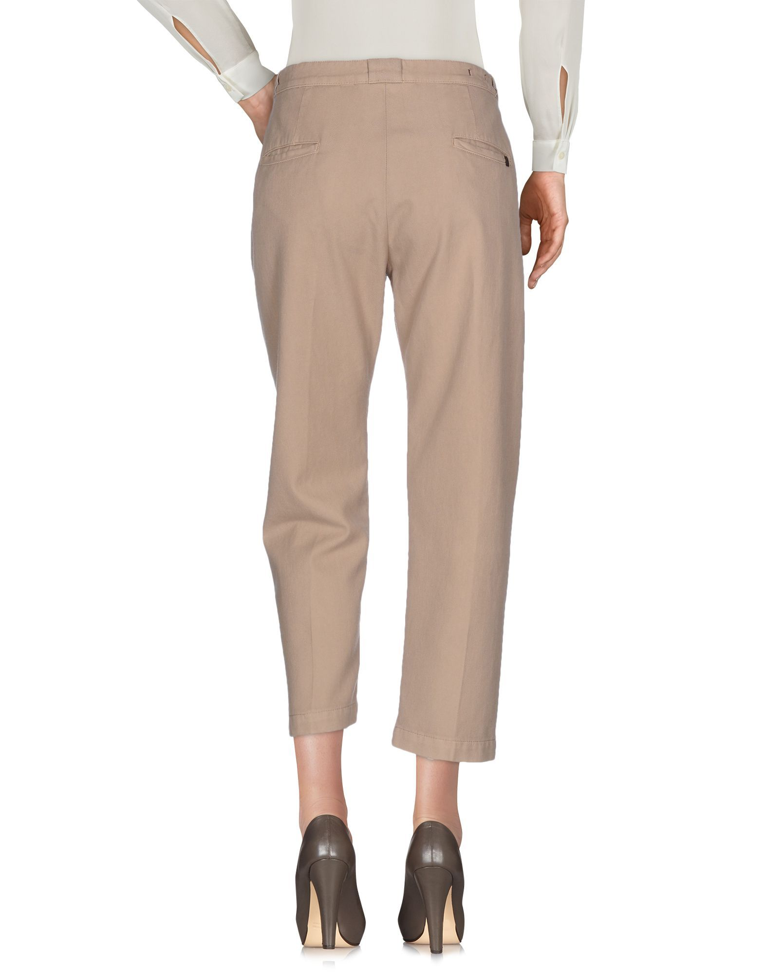 TROUSERS True Nyc� Beige Woman Cotton