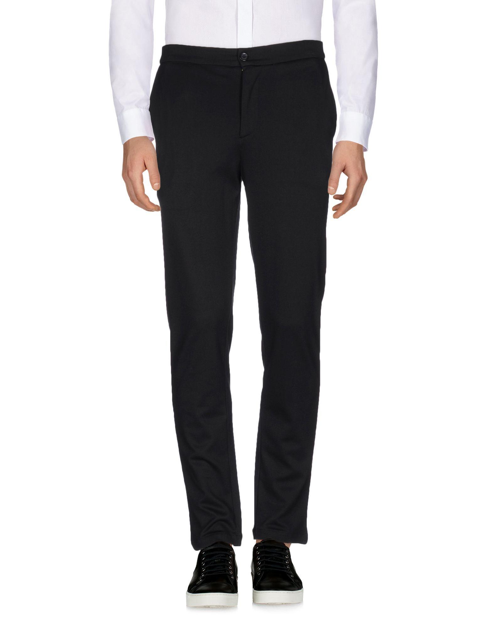 Hamaki-Ho Man Black Casual trousers