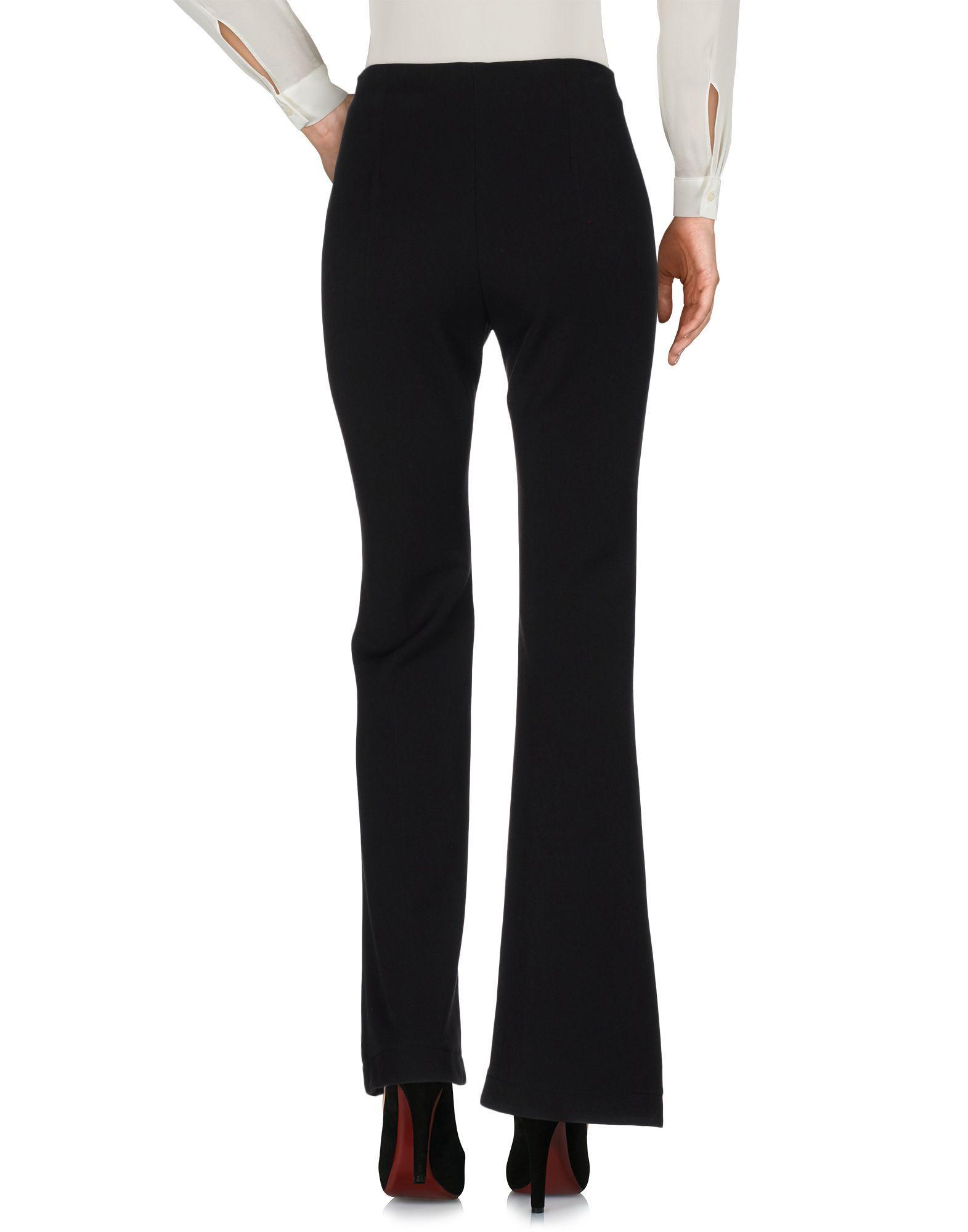 Pf Paola Frani Black Wool Trousers