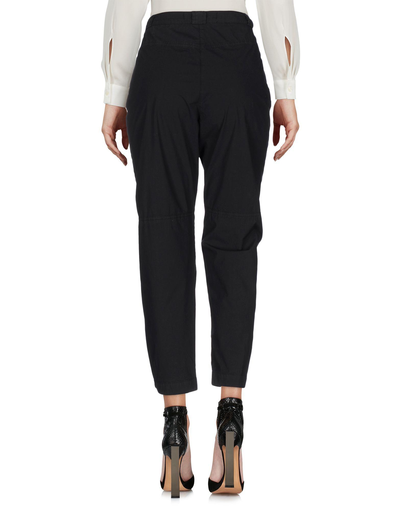 Pinko Black Cotton Trousers