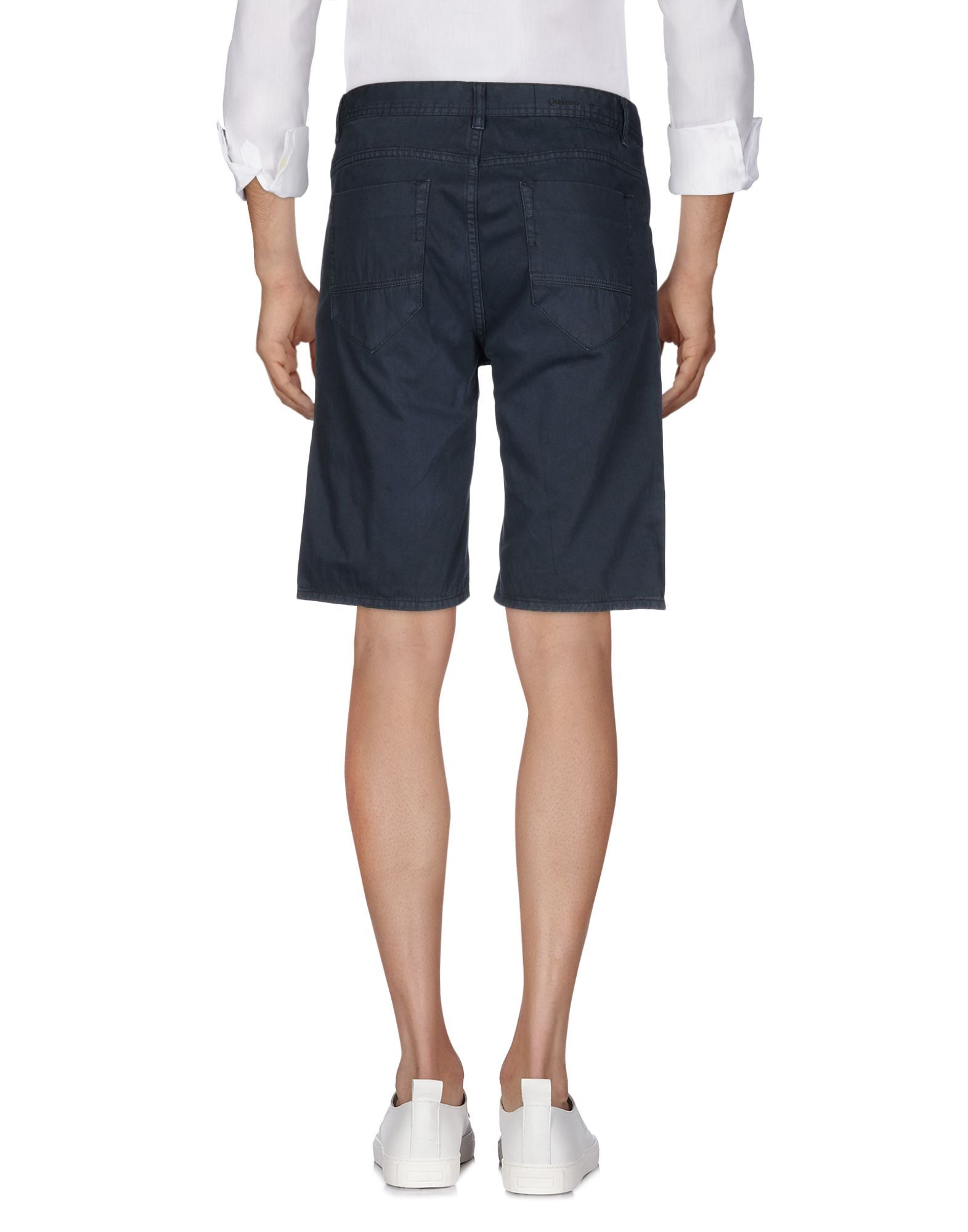 Steel grey pure cotton trousers