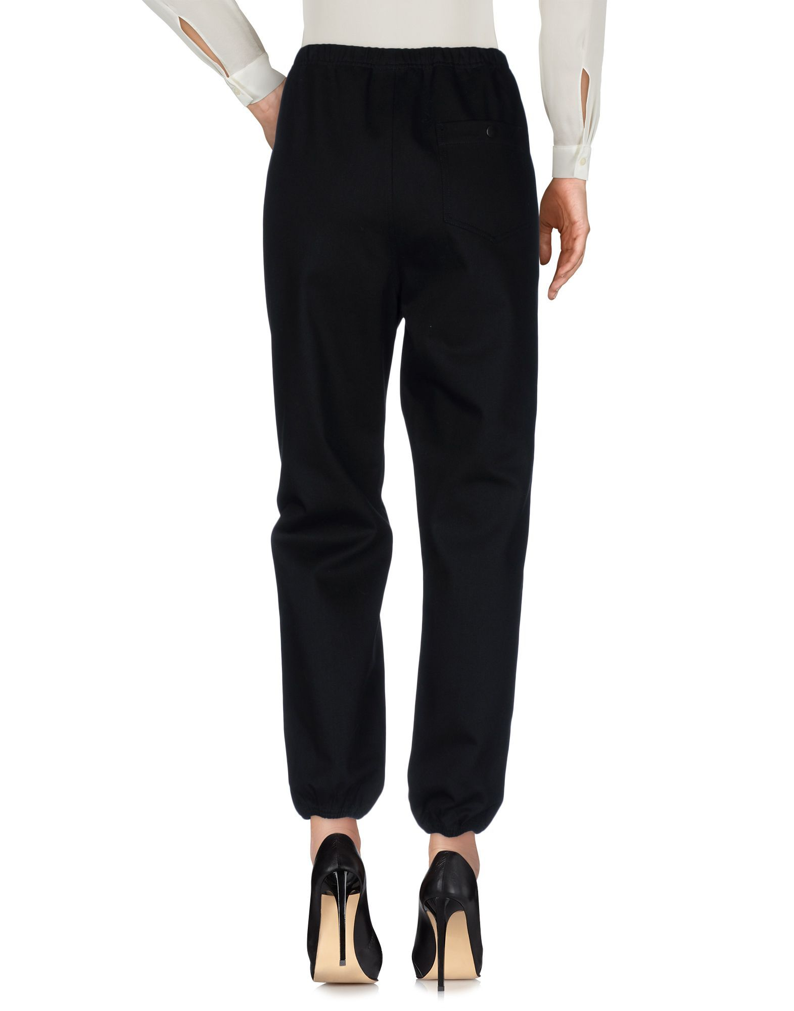 Alexander Wang Black Cotton Trousers
