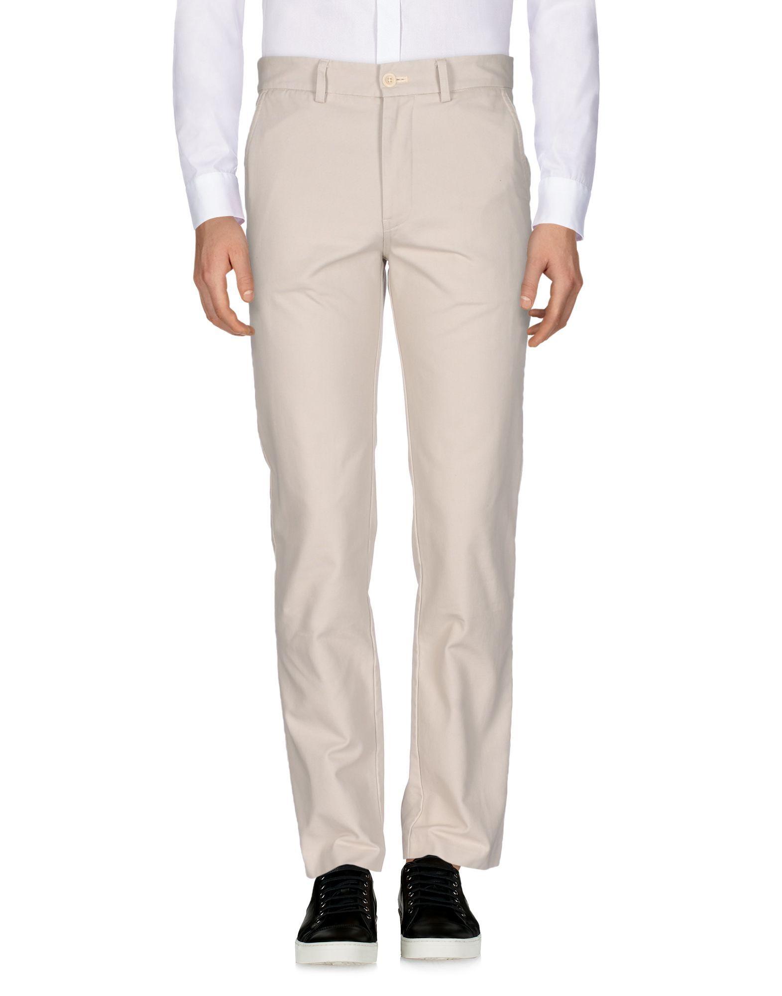 F.S.C. Freemans Sporting Club Light grey Cotton Pantaloni