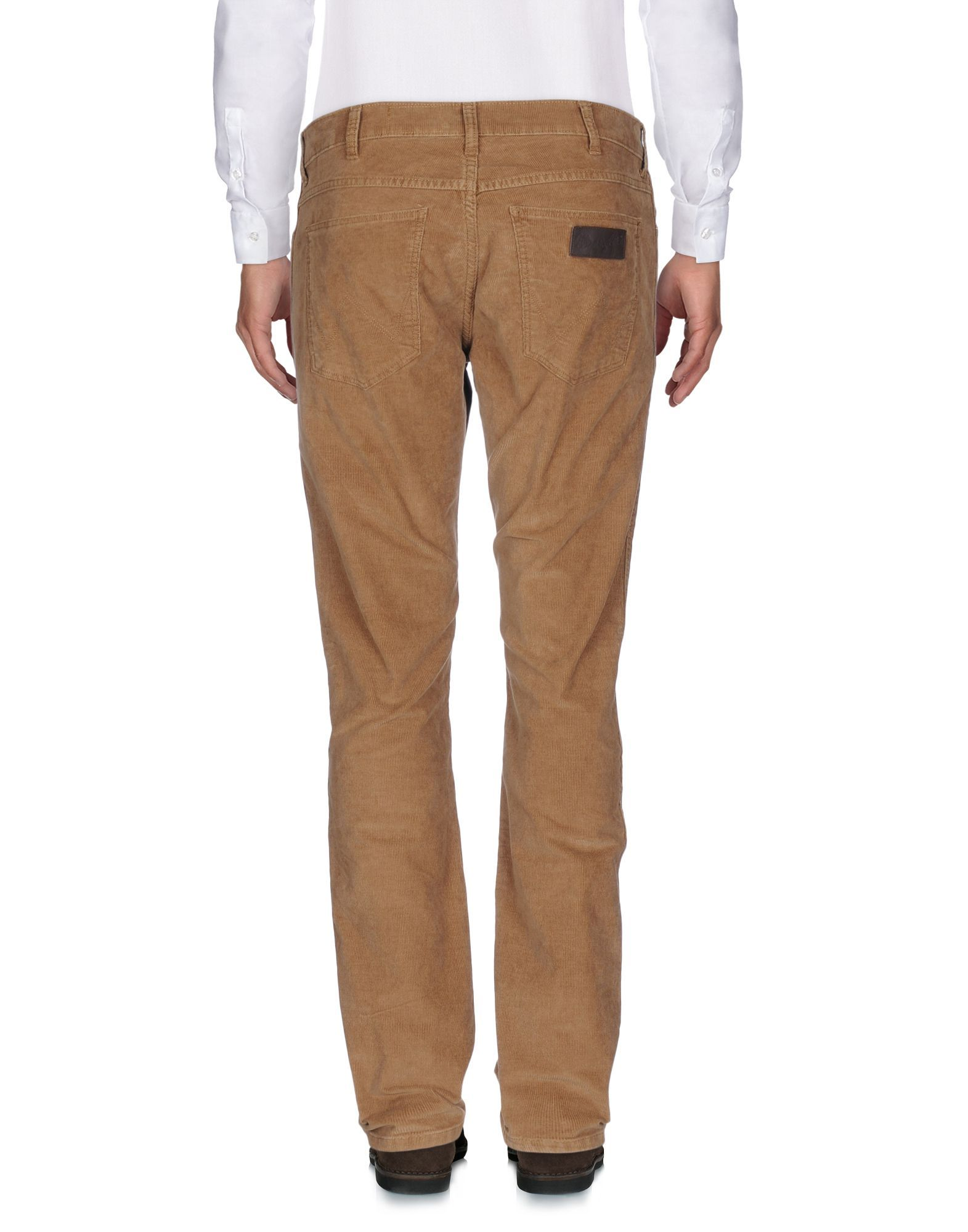 Wrangler Brown Cotton Trousers