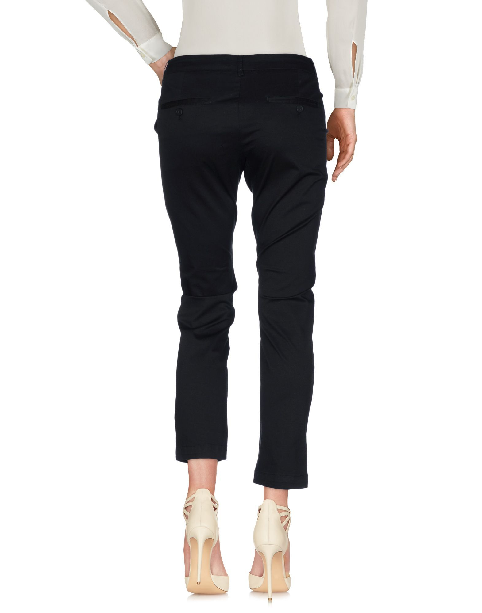 Silvian Heach Black Cotton Trousers