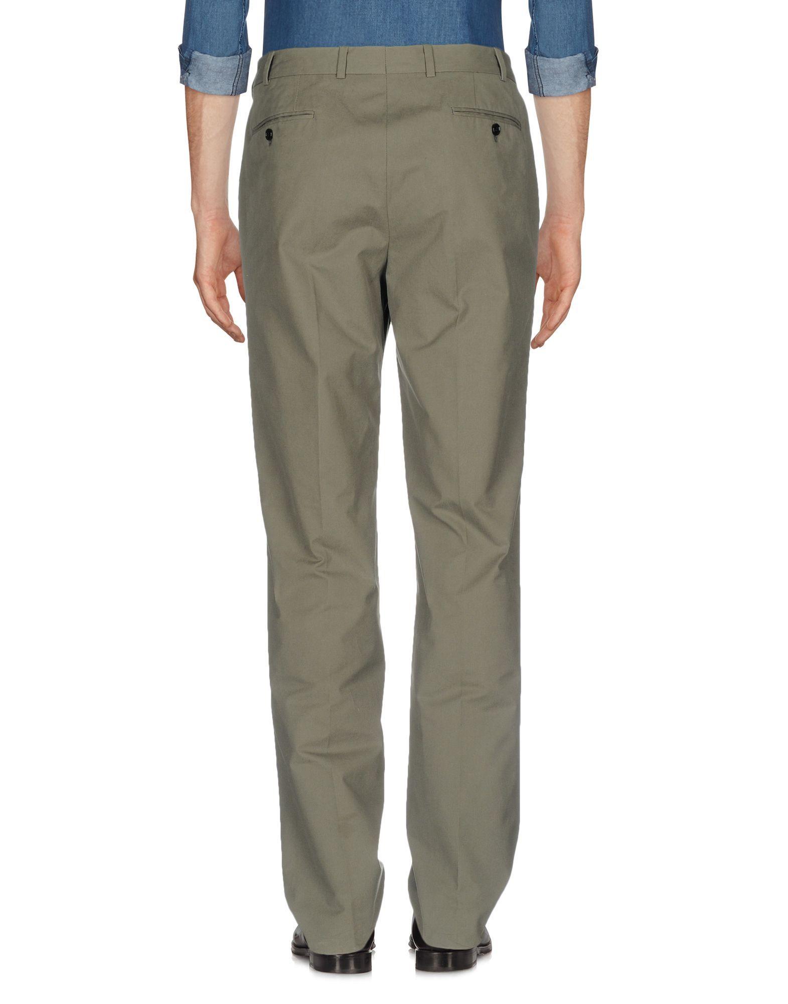 Mp Massimo Piombo Military green Cotton Pantaloni